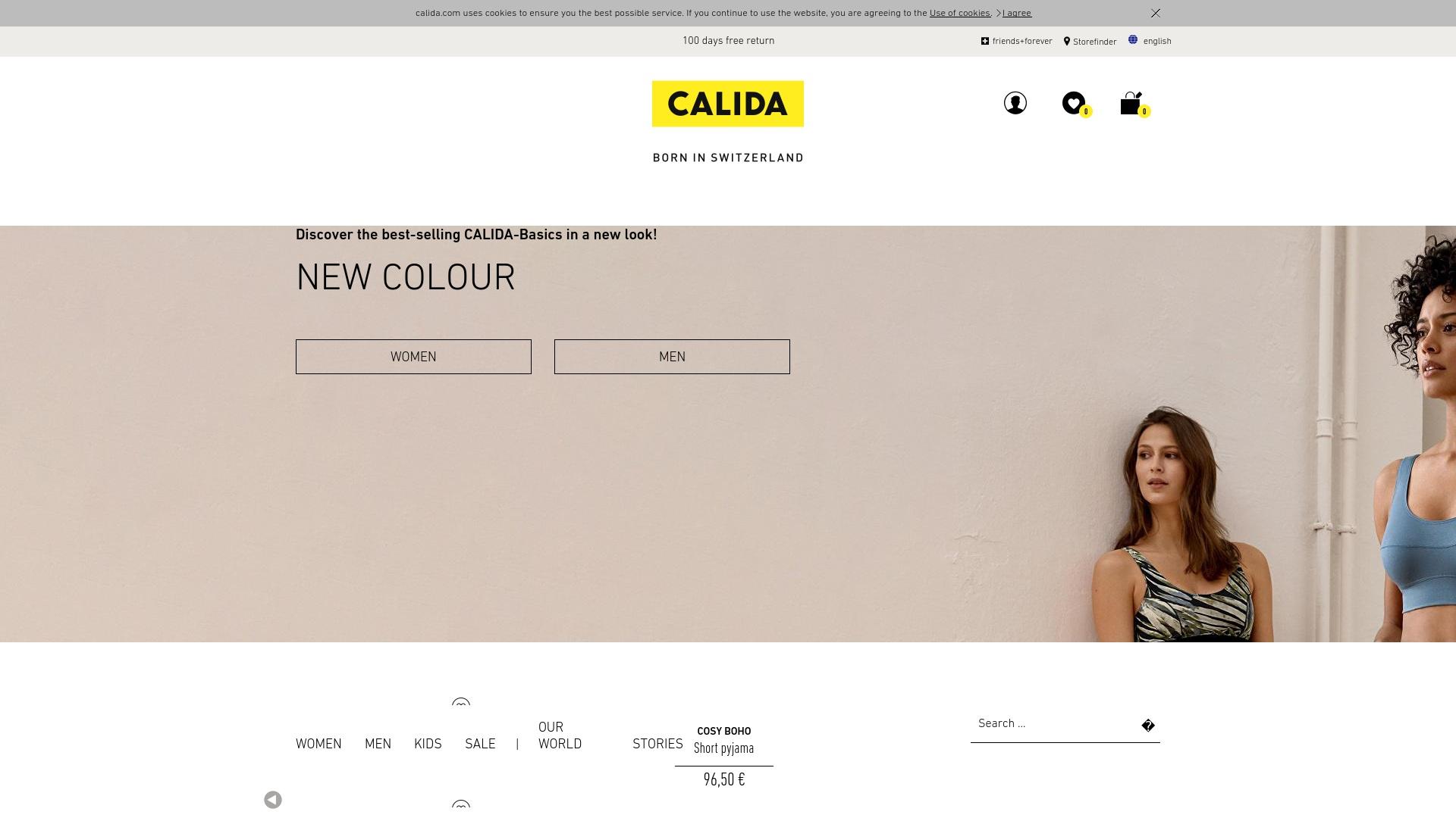 Gutschein für Calida: Rabatte für  Calida sichern