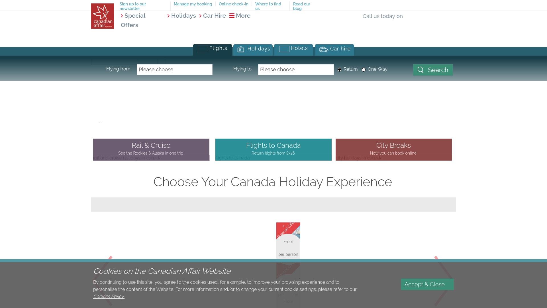 Gutschein für Canadianaffair: Rabatte für  Canadianaffair sichern