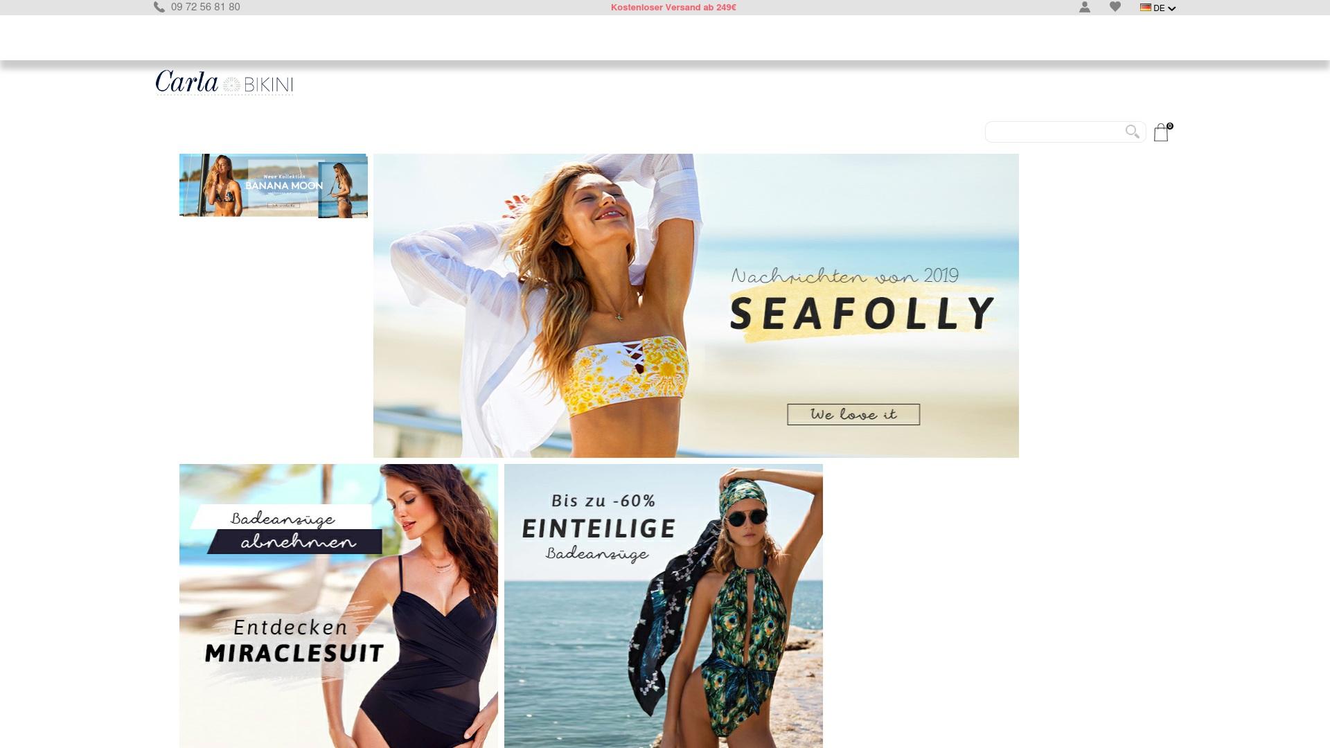 Gutschein für Carla-bikini: Rabatte für  Carla-bikini sichern