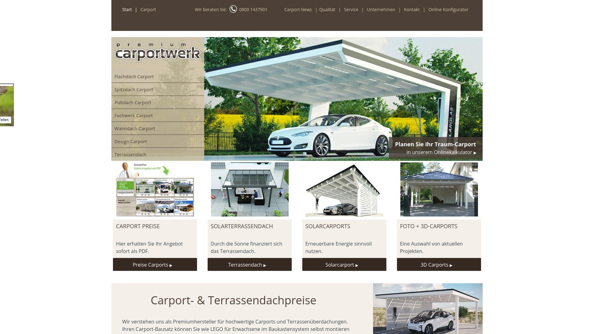 Gutschein für Carporte: Rabatte für  Carporte sichern