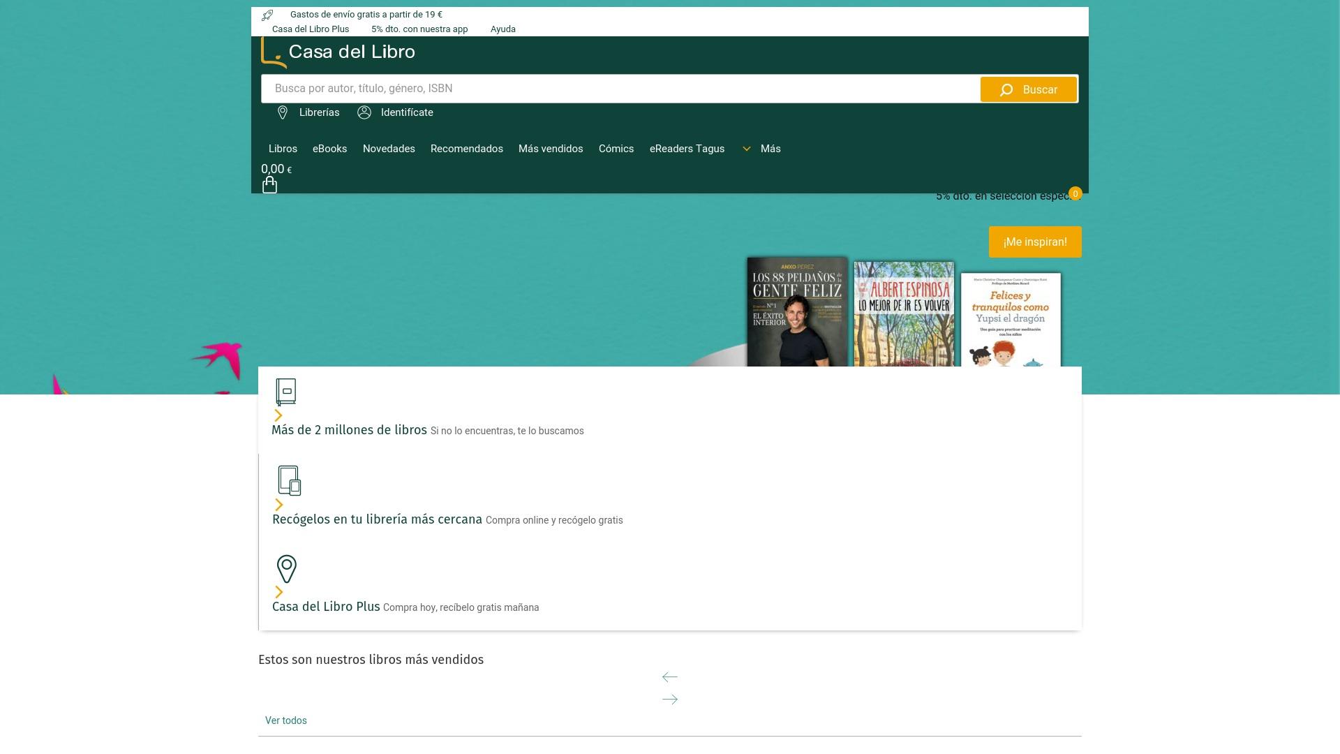 Gutschein für Casadellibro: Rabatte für  Casadellibro sichern