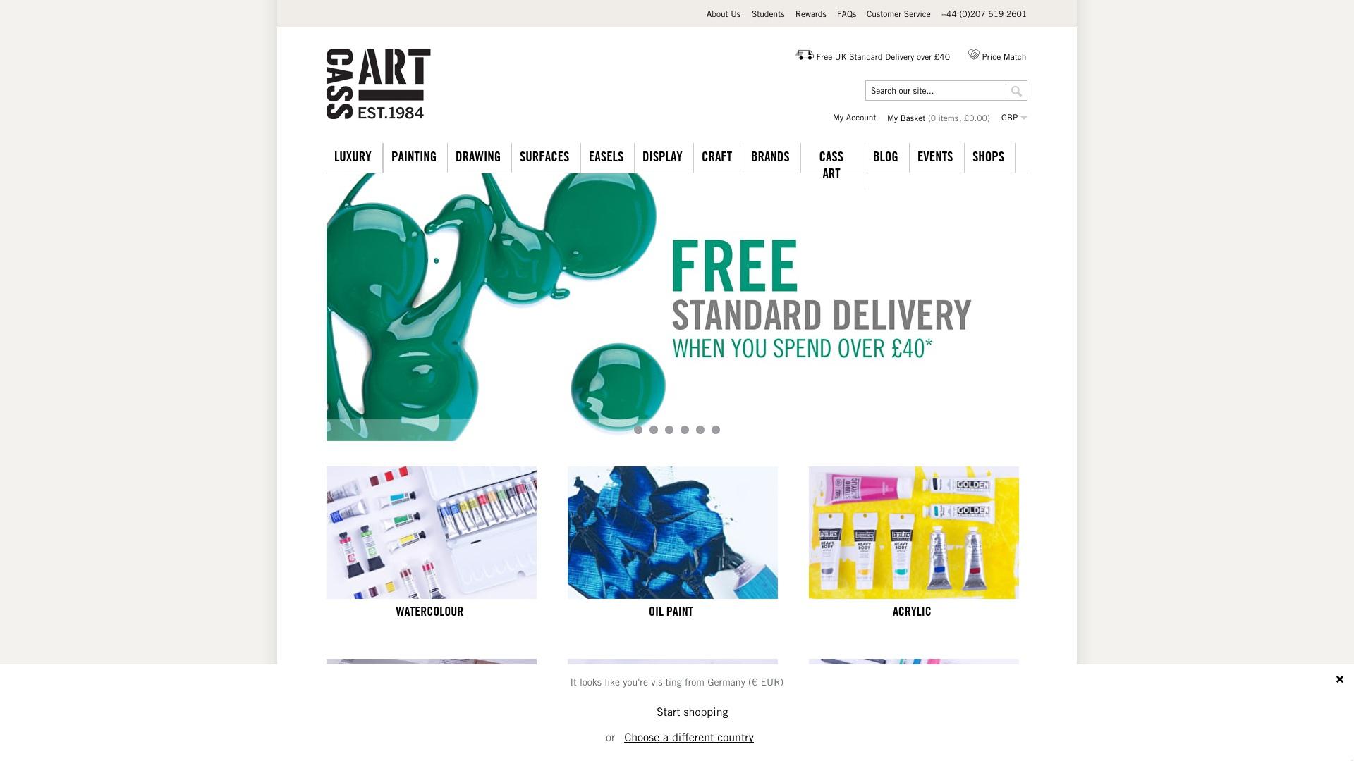 Gutschein für Cassart: Rabatte für  Cassart sichern
