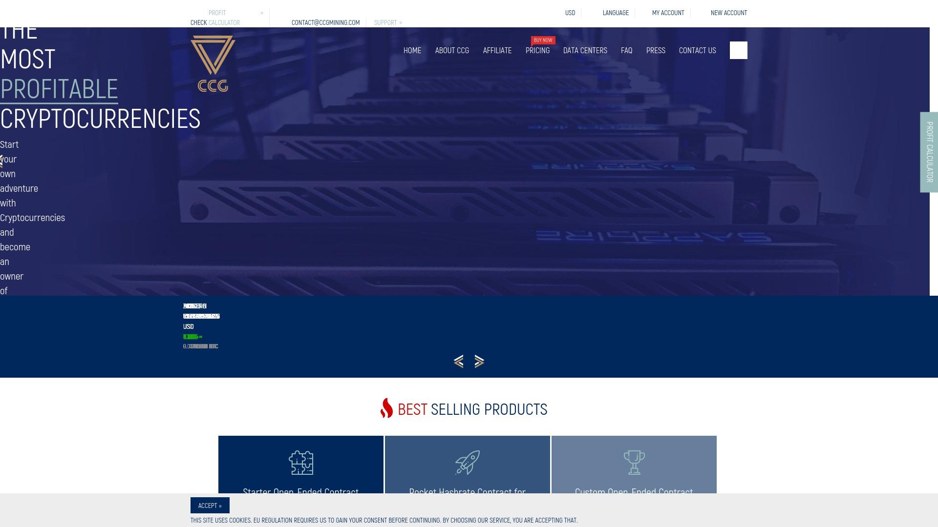Gutschein für Ccgmining: Rabatte für  Ccgmining sichern