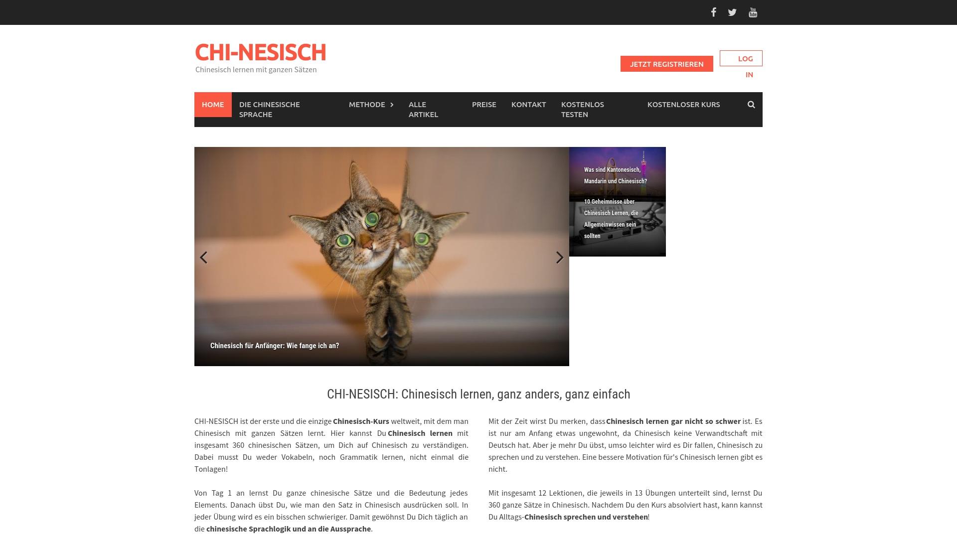 Gutschein für Chi-nesisch: Rabatte für  Chi-nesisch sichern