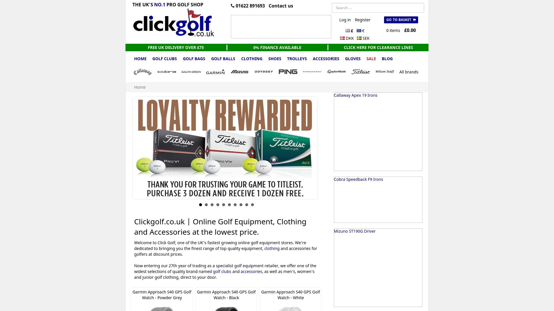 Gutschein für Clickgolf: Rabatte für  Clickgolf sichern