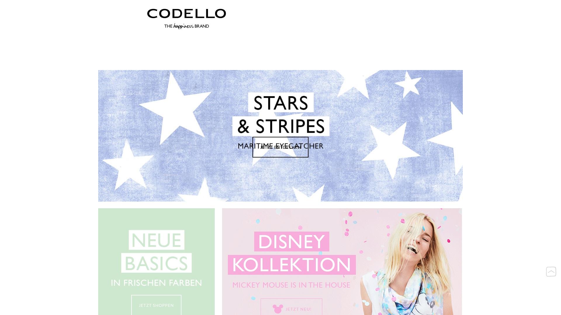 Gutschein für Codello: Rabatte für  Codello sichern