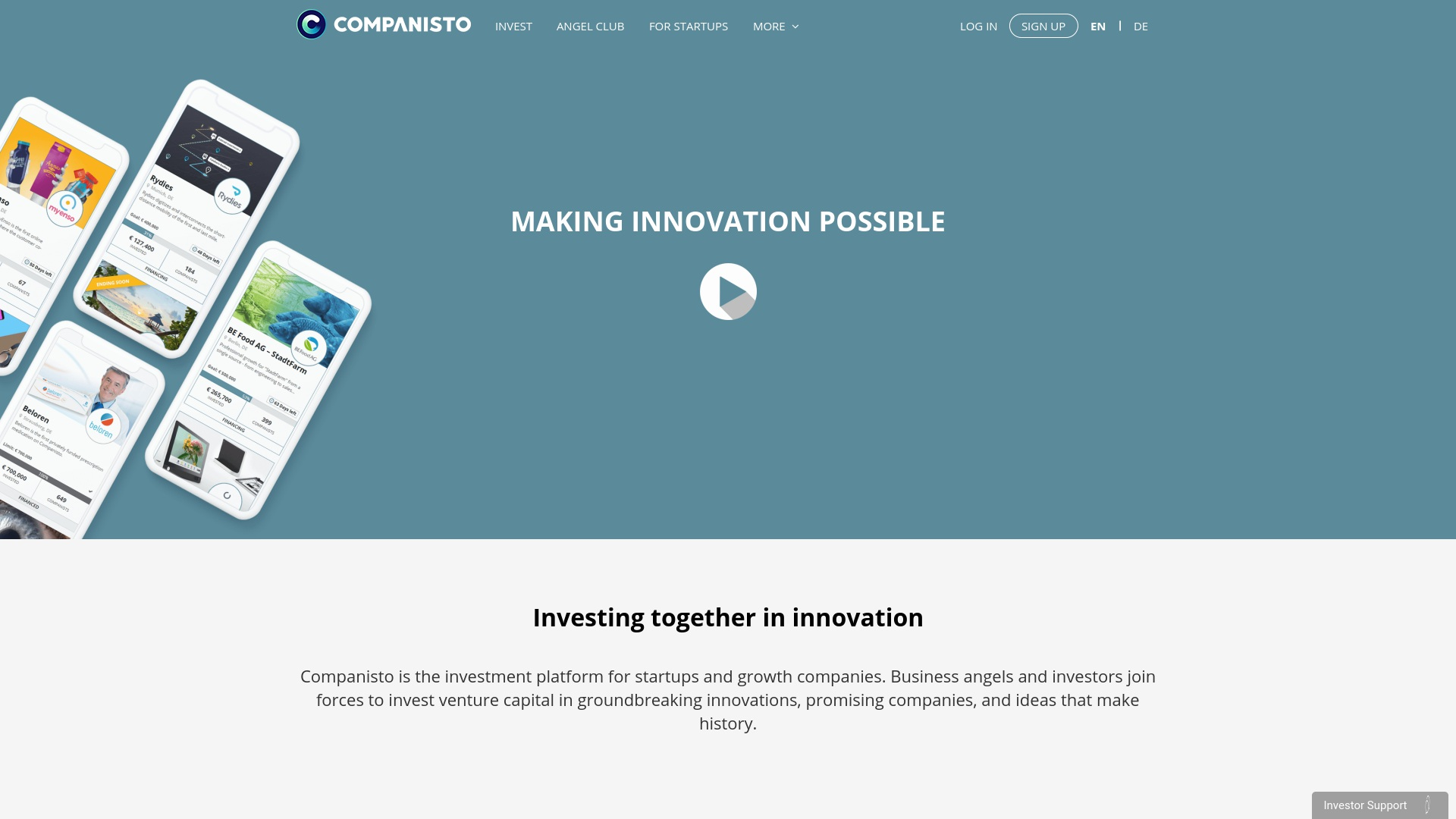 Gutschein für Companisto: Rabatte für  Companisto sichern