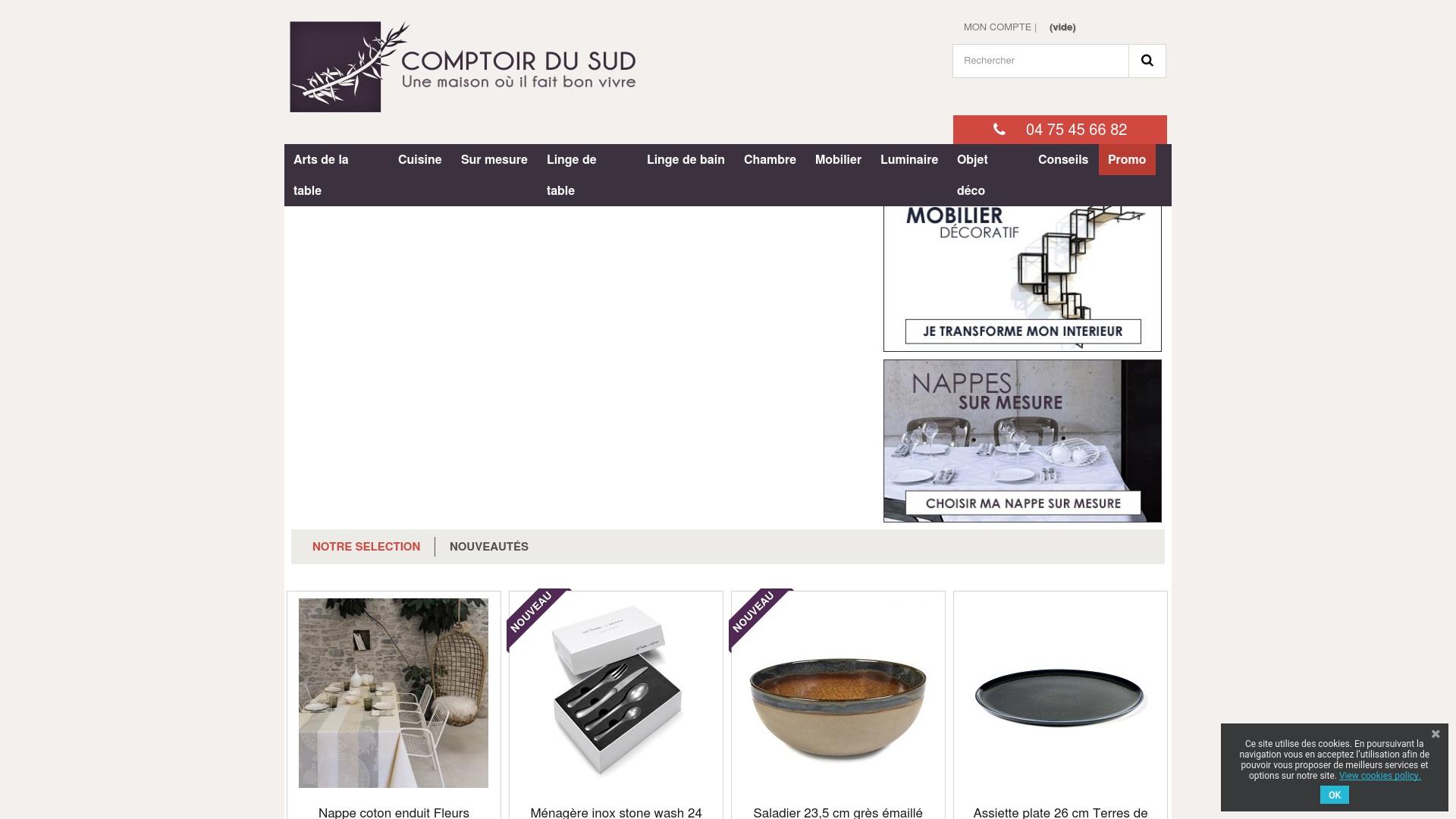 Gutschein für Comptoir-du-sud: Rabatte für  Comptoir-du-sud sichern