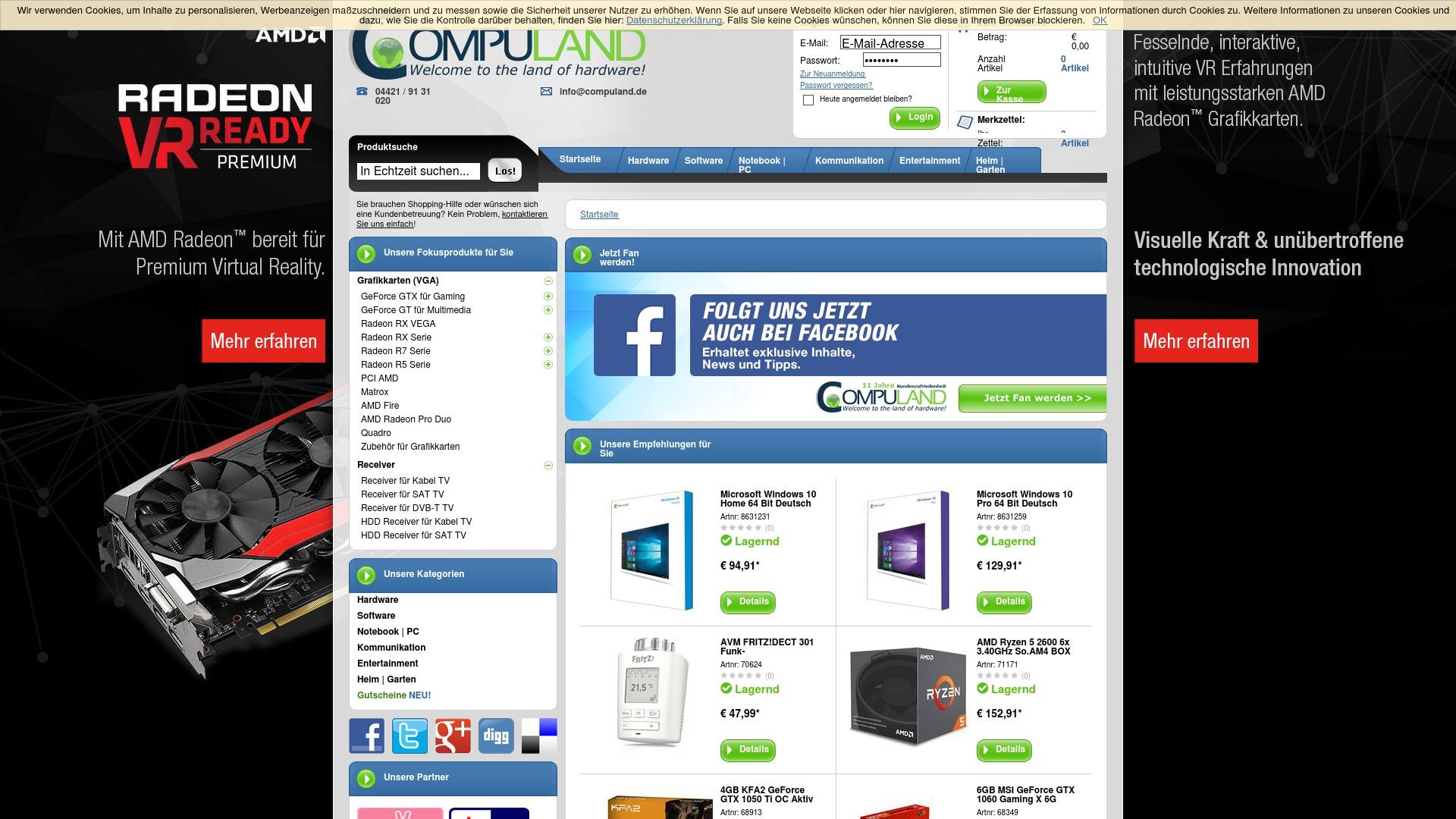 Gutschein für Compuland: Rabatte für  Compuland sichern