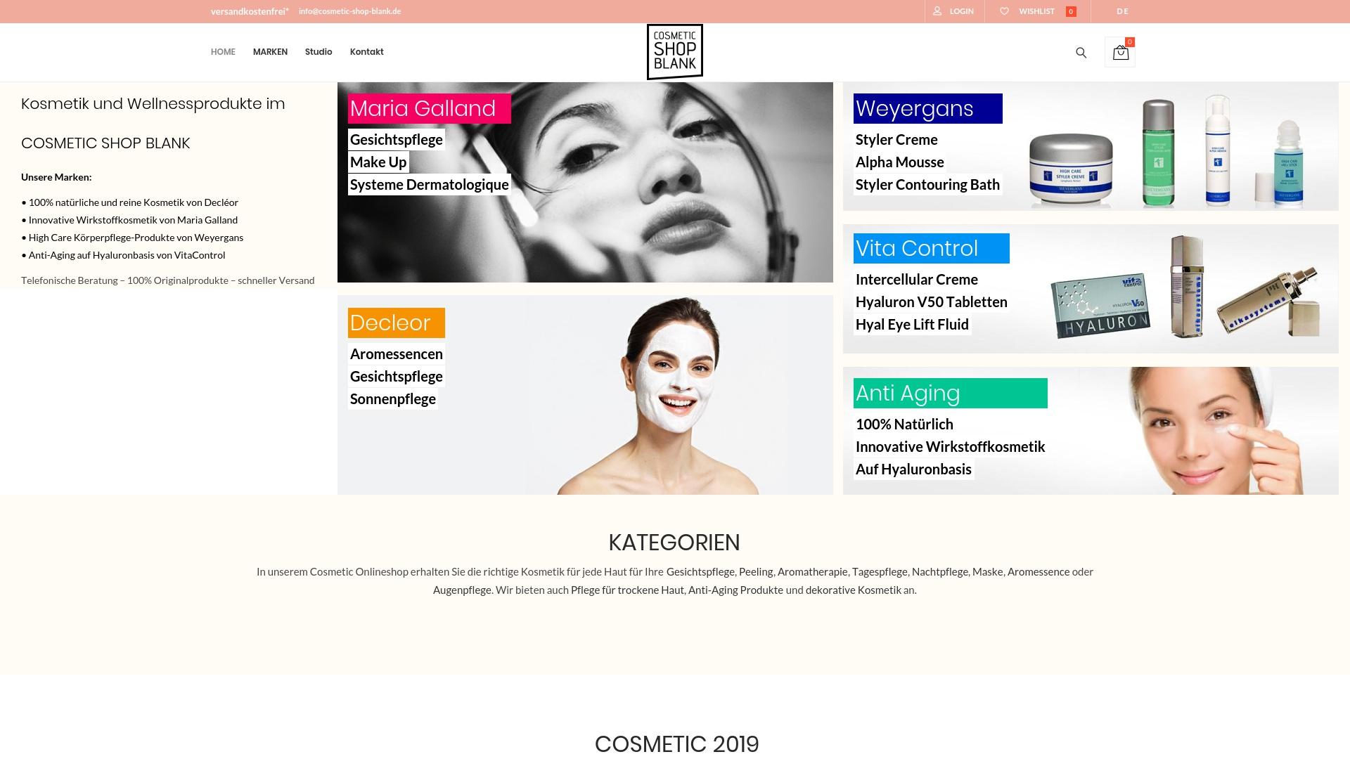 Gutschein für Cosmetic-shop-blank: Rabatte für  Cosmetic-shop-blank sichern
