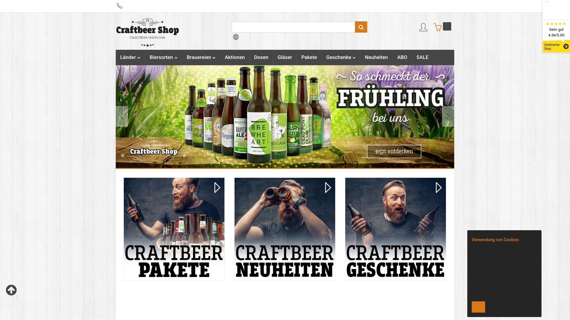 Gutschein für Craftbeer-shop: Rabatte für  Craftbeer-shop sichern