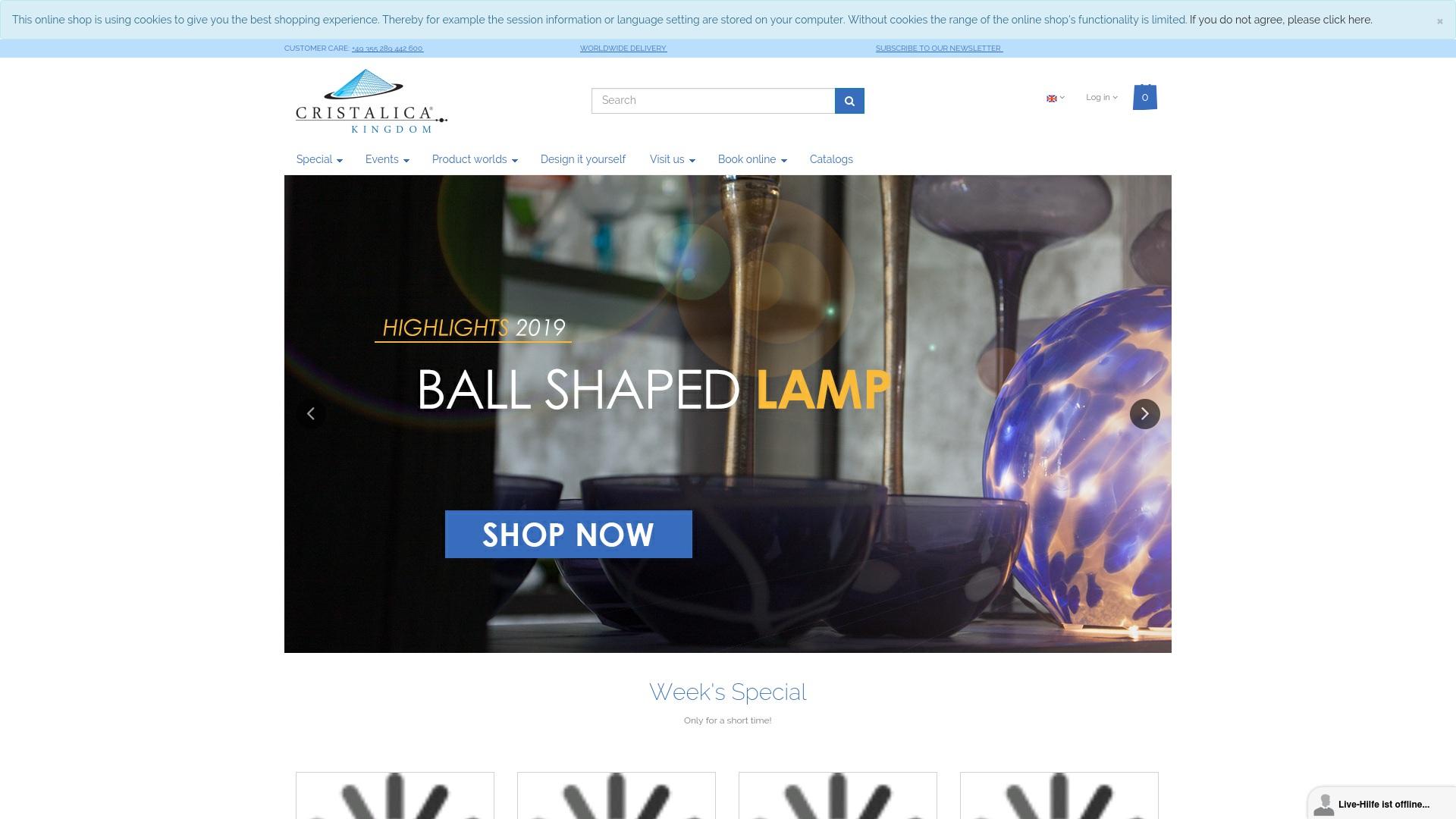 Gutschein für Cristalica: Rabatte für  Cristalica sichern