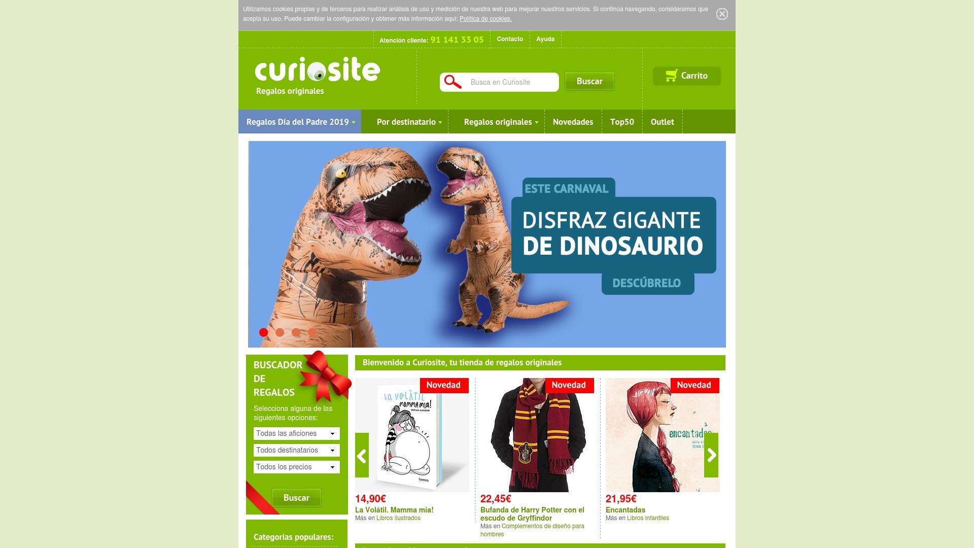 Gutschein für Curiosite: Rabatte für  Curiosite sichern