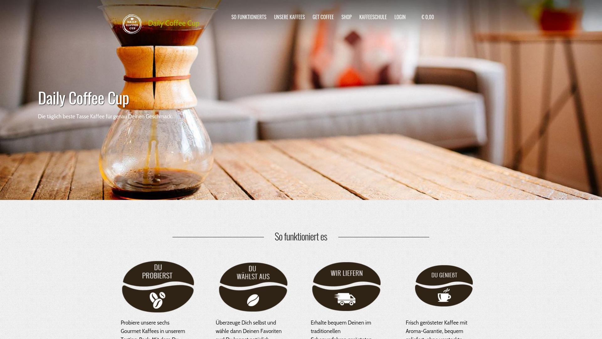 Gutschein für Dailycoffeecup: Rabatte für  Dailycoffeecup sichern