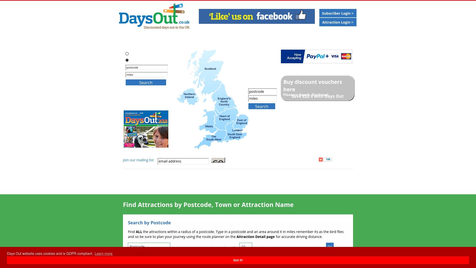Gutschein für Daysout: Rabatte für  Daysout sichern