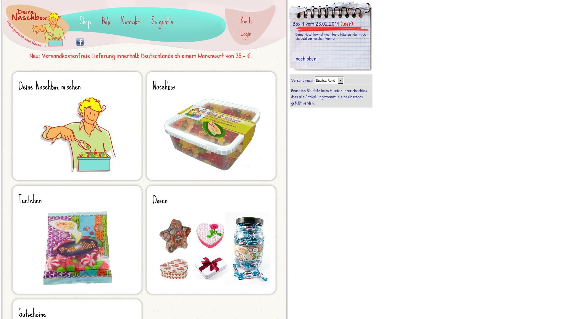 Gutschein für Deinenaschbox: Rabatte für  Deinenaschbox sichern