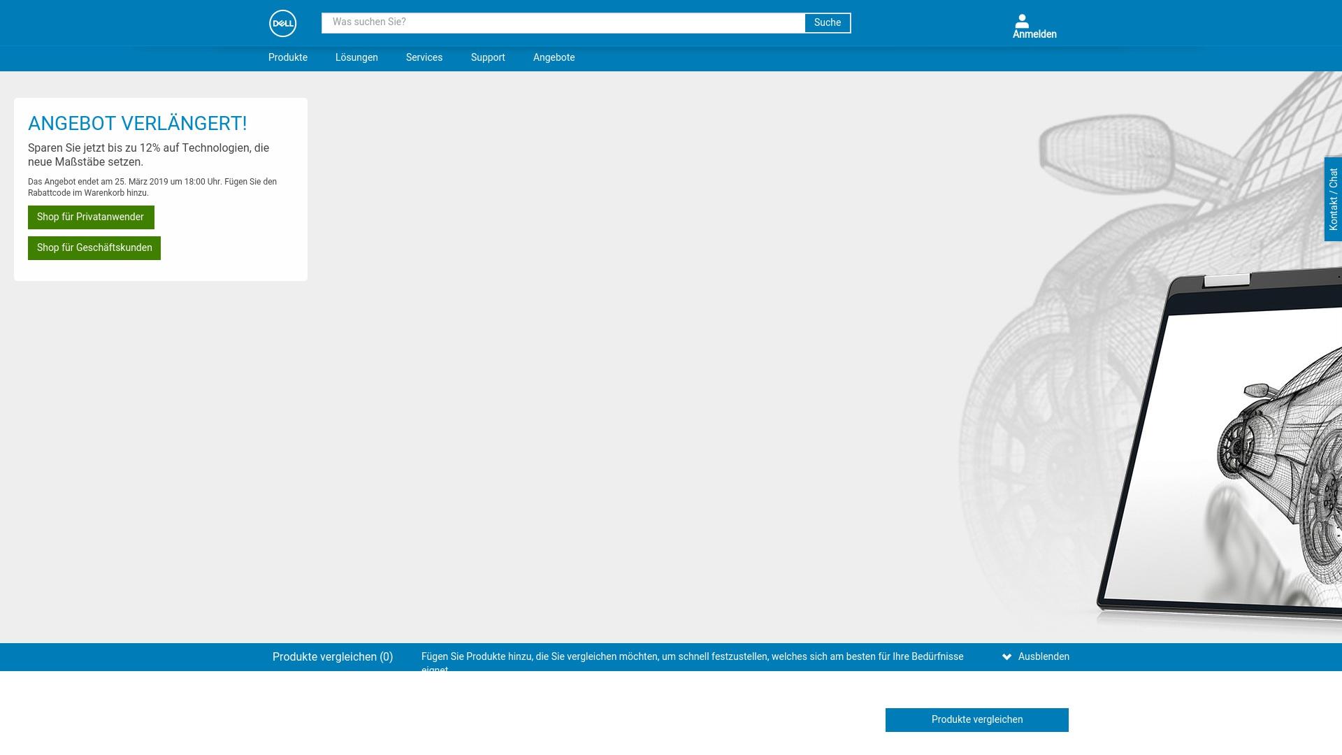 Gutschein für Dell: Rabatte für  Dell sichern