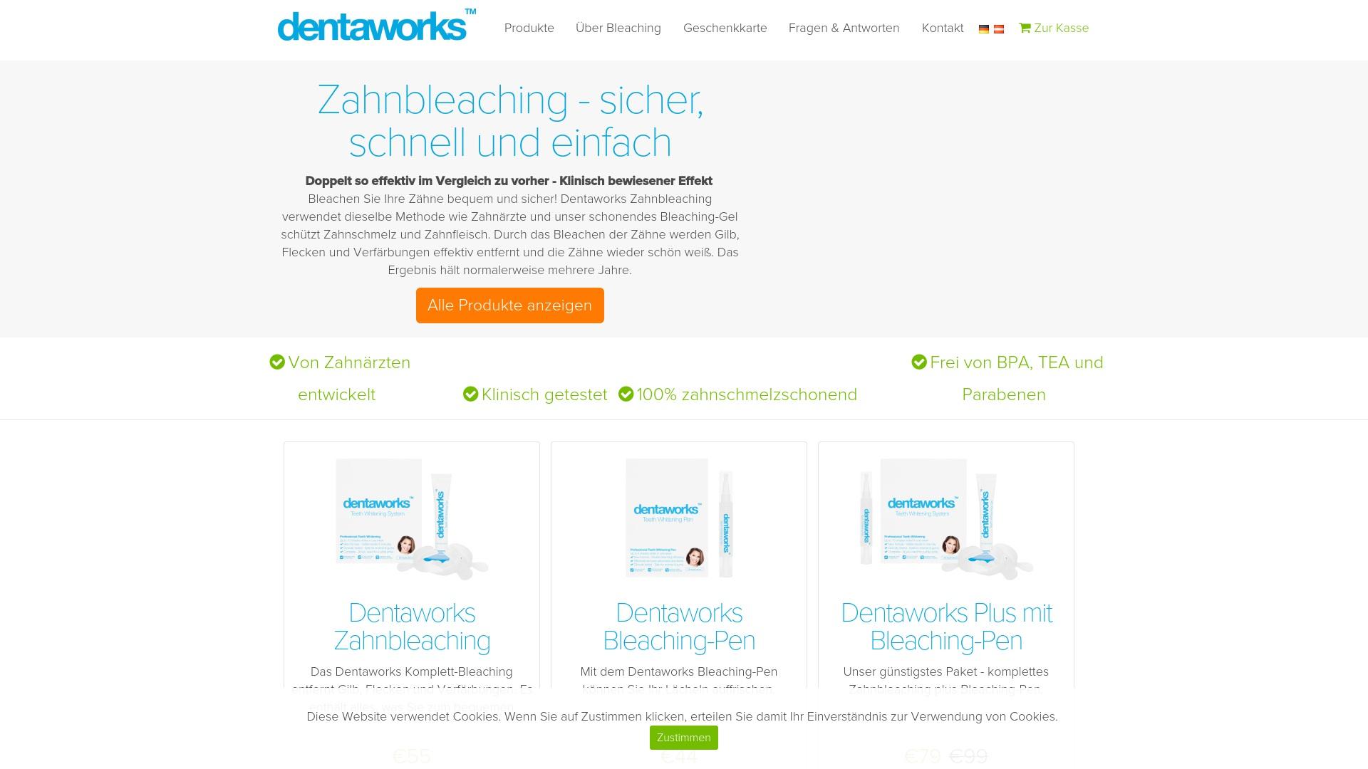 Gutschein für Dentaworks: Rabatte für  Dentaworks sichern