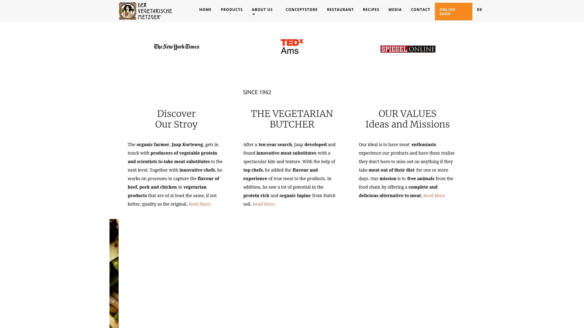 Gutschein für Der-vegetarische-metzger: Rabatte für  Der-vegetarische-metzger sichern