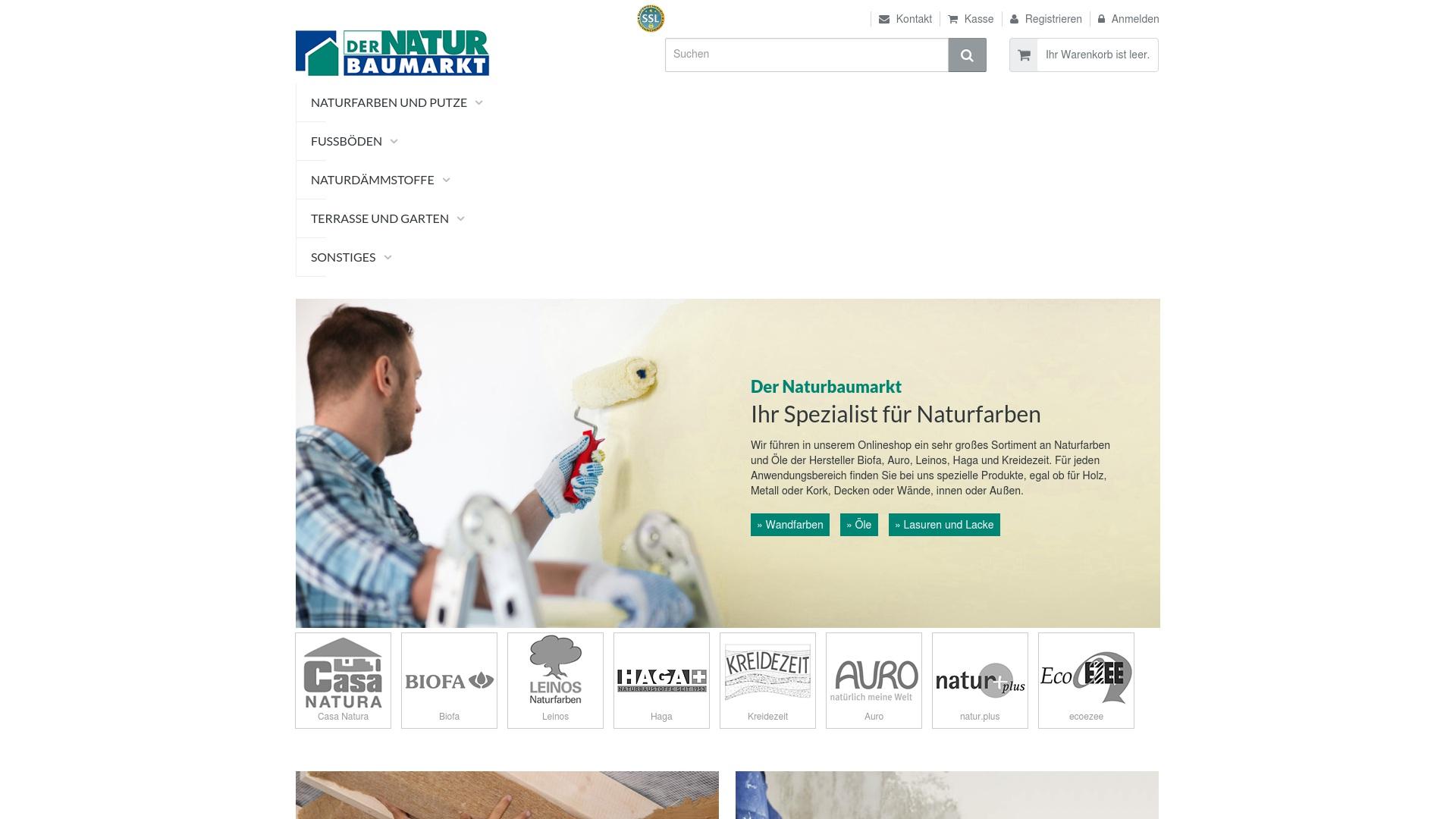 Gutschein für Dernaturbaumarkt-shop: Rabatte für  Dernaturbaumarkt-shop sichern