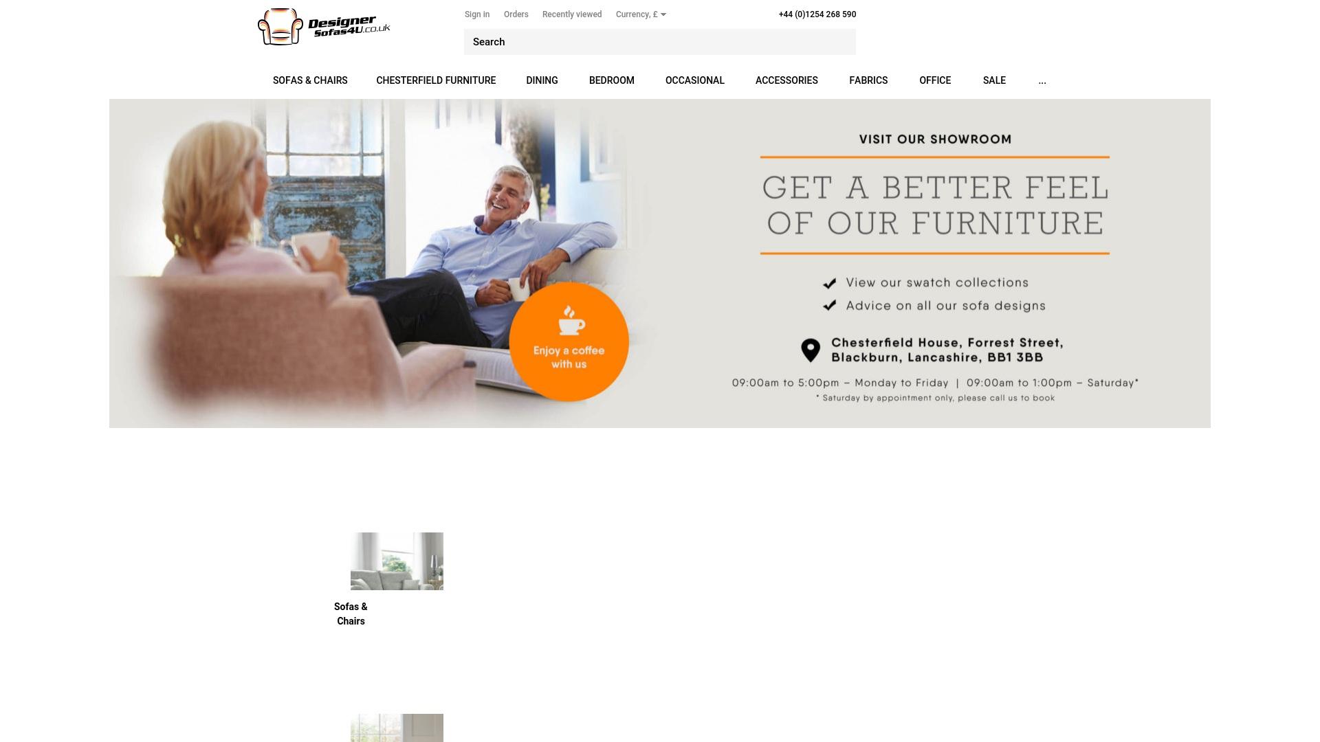 Gutschein für Designersofas4u: Rabatte für  Designersofas4u sichern