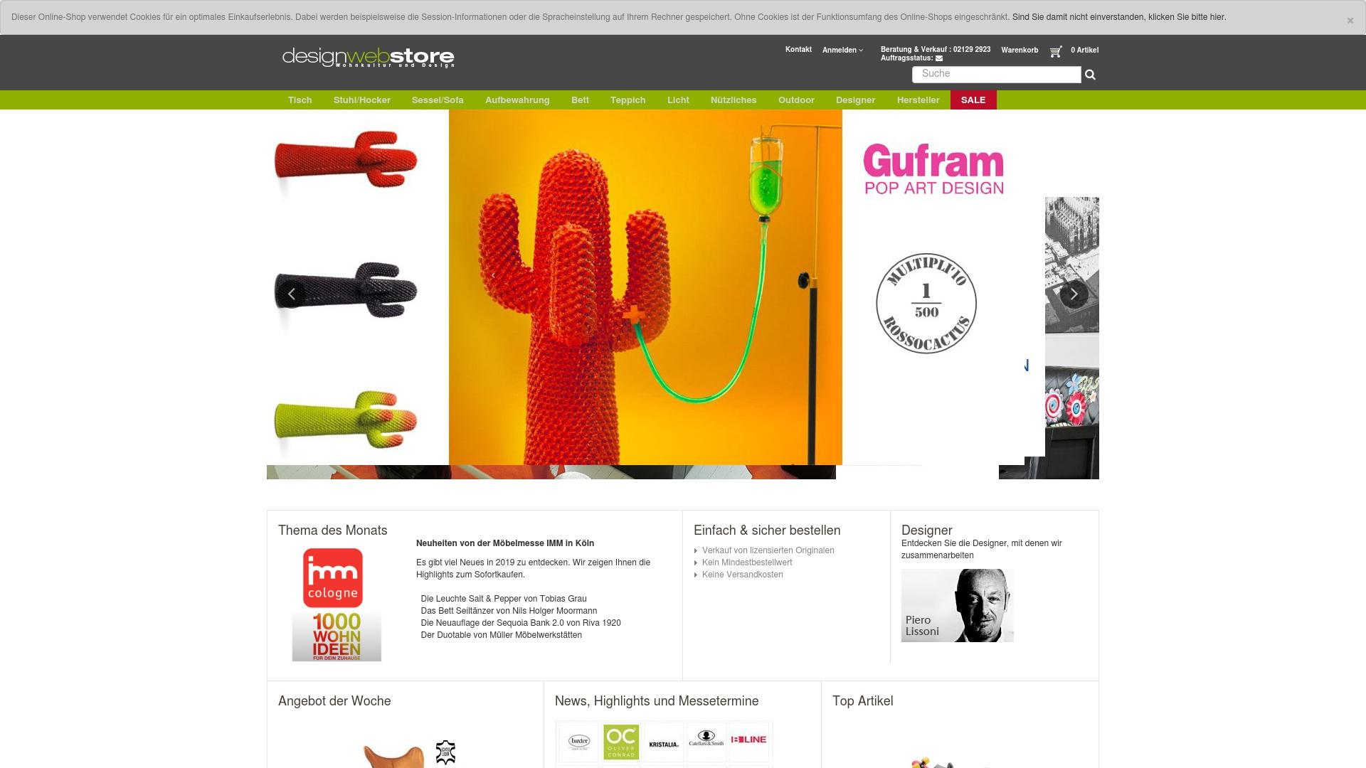 Gutschein für Designwebstore: Rabatte für  Designwebstore sichern