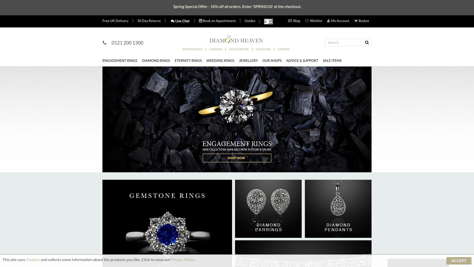 Gutschein für Diamond-heaven: Rabatte für  Diamond-heaven sichern