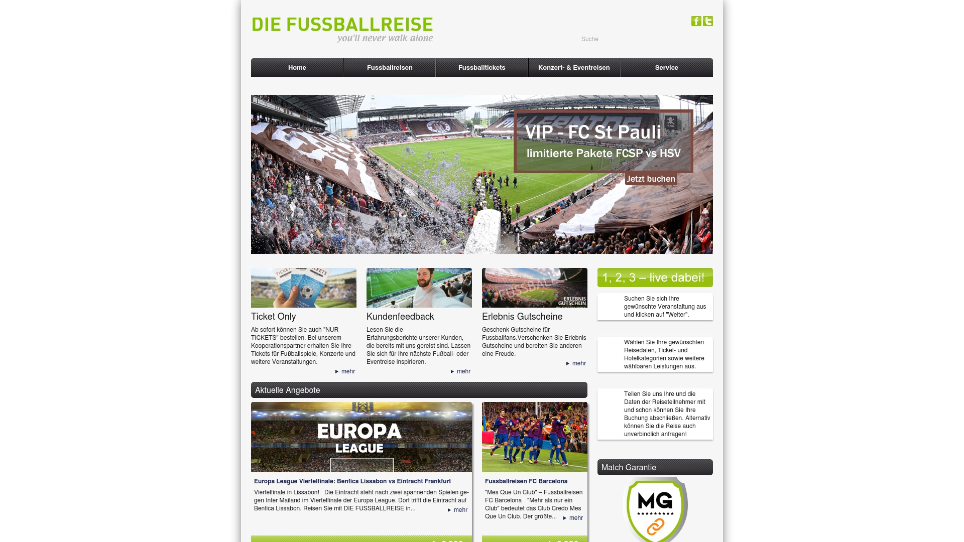 Gutschein für Die-fussballreise: Rabatte für  Die-fussballreise sichern