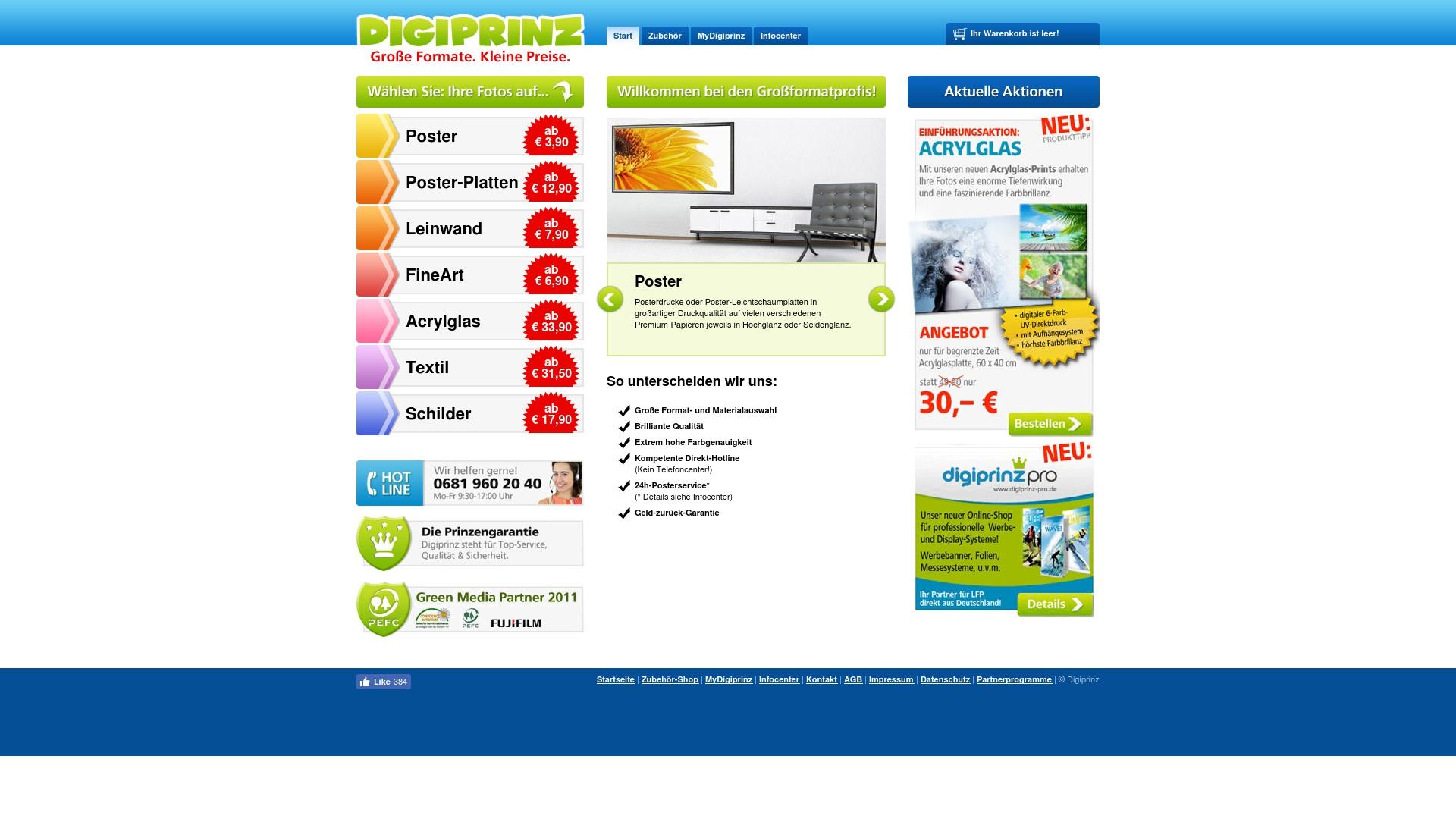 Gutschein für Digiprinz: Rabatte für  Digiprinz sichern