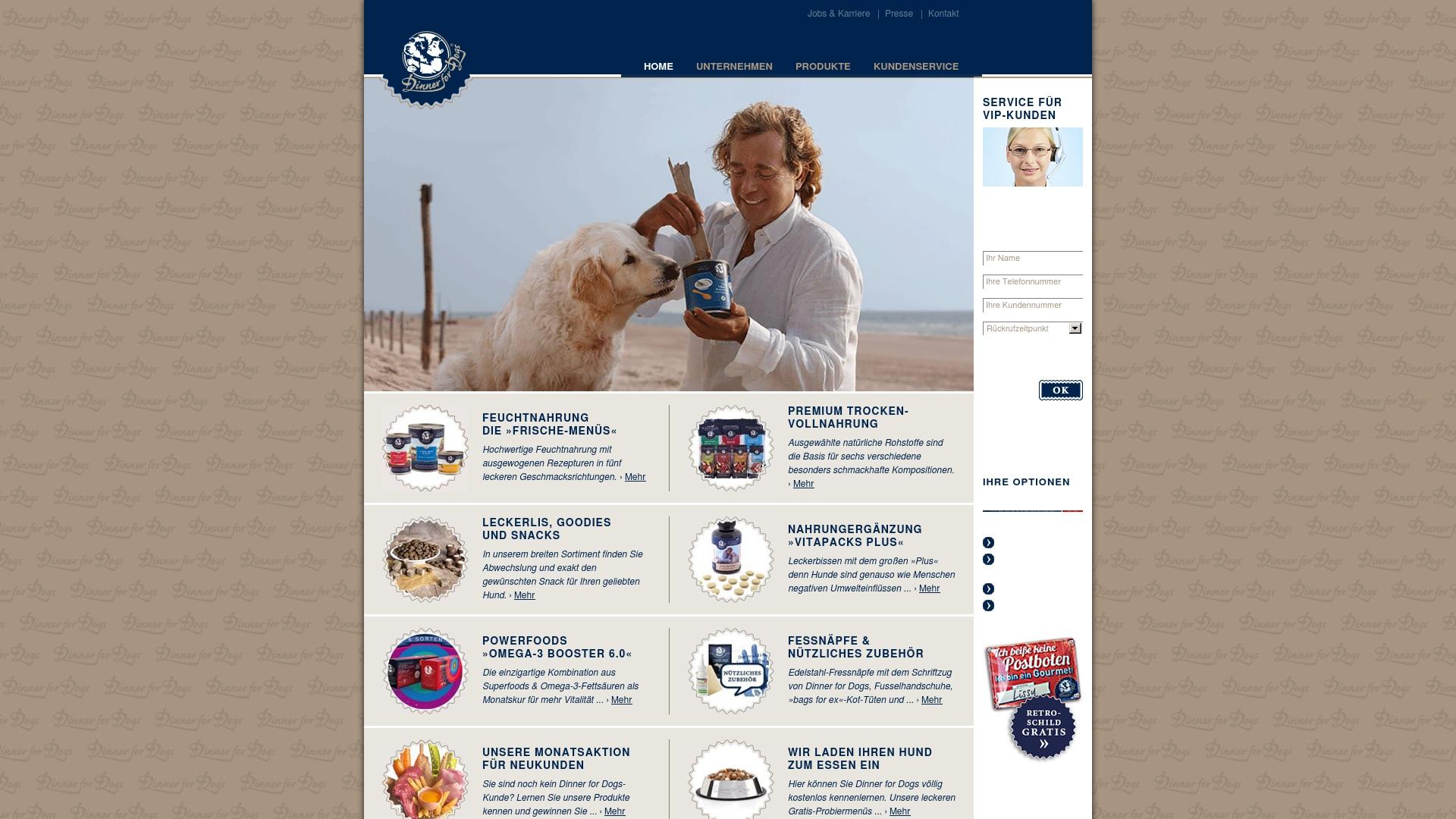 Gutschein für Dinner-for-dogs: Rabatte für  Dinner-for-dogs sichern