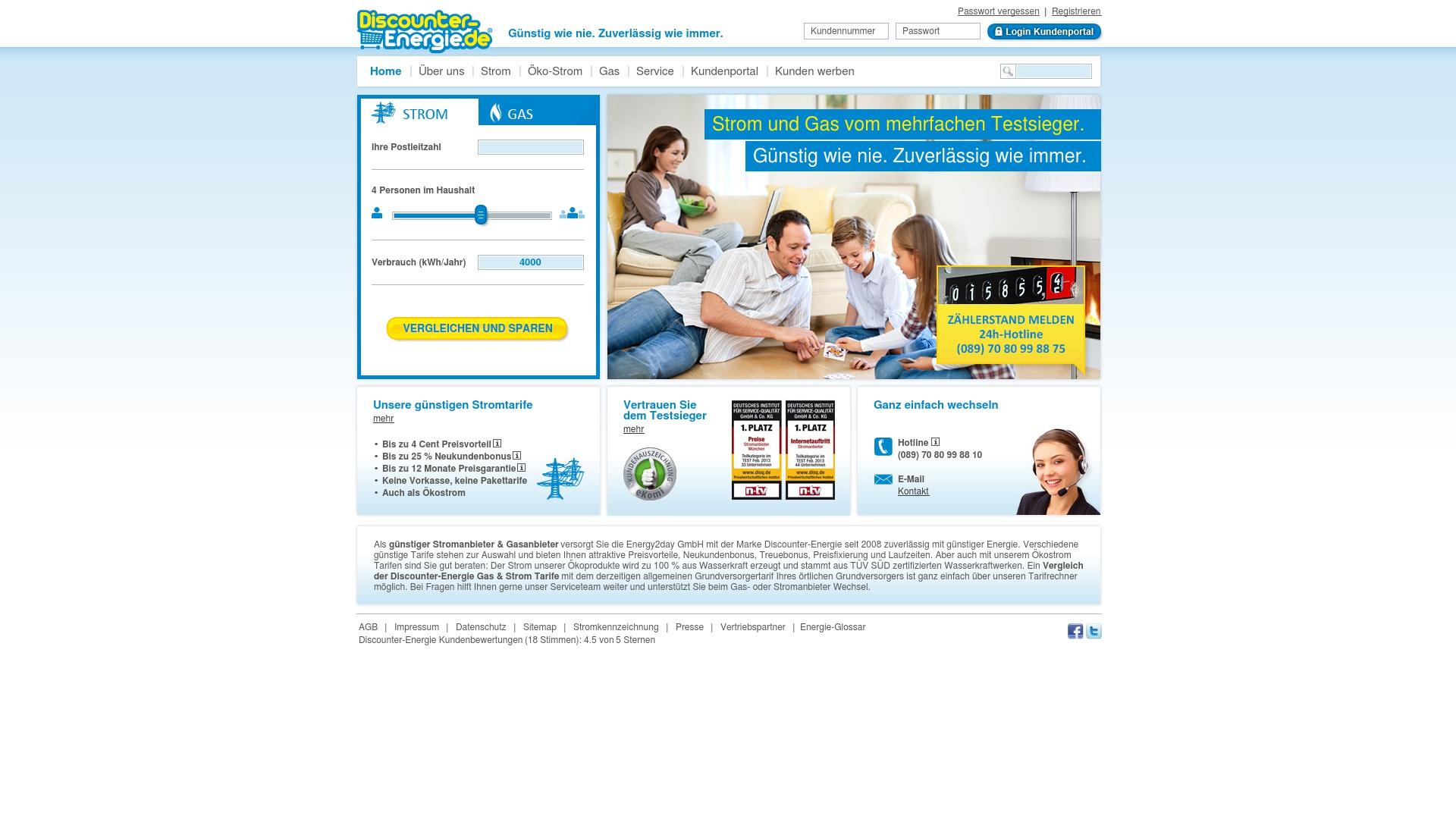 Gutschein für Discounter-energie: Rabatte für  Discounter-energie sichern