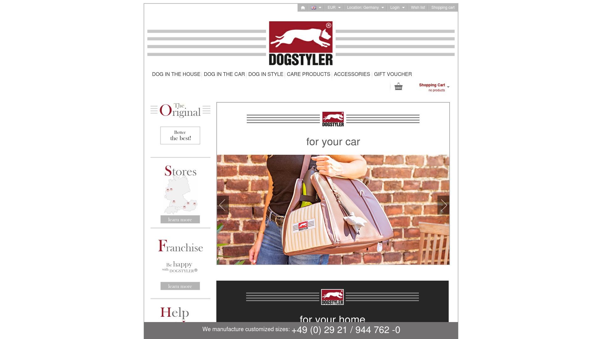 Gutschein für Dogstyler-shop: Rabatte für  Dogstyler-shop sichern