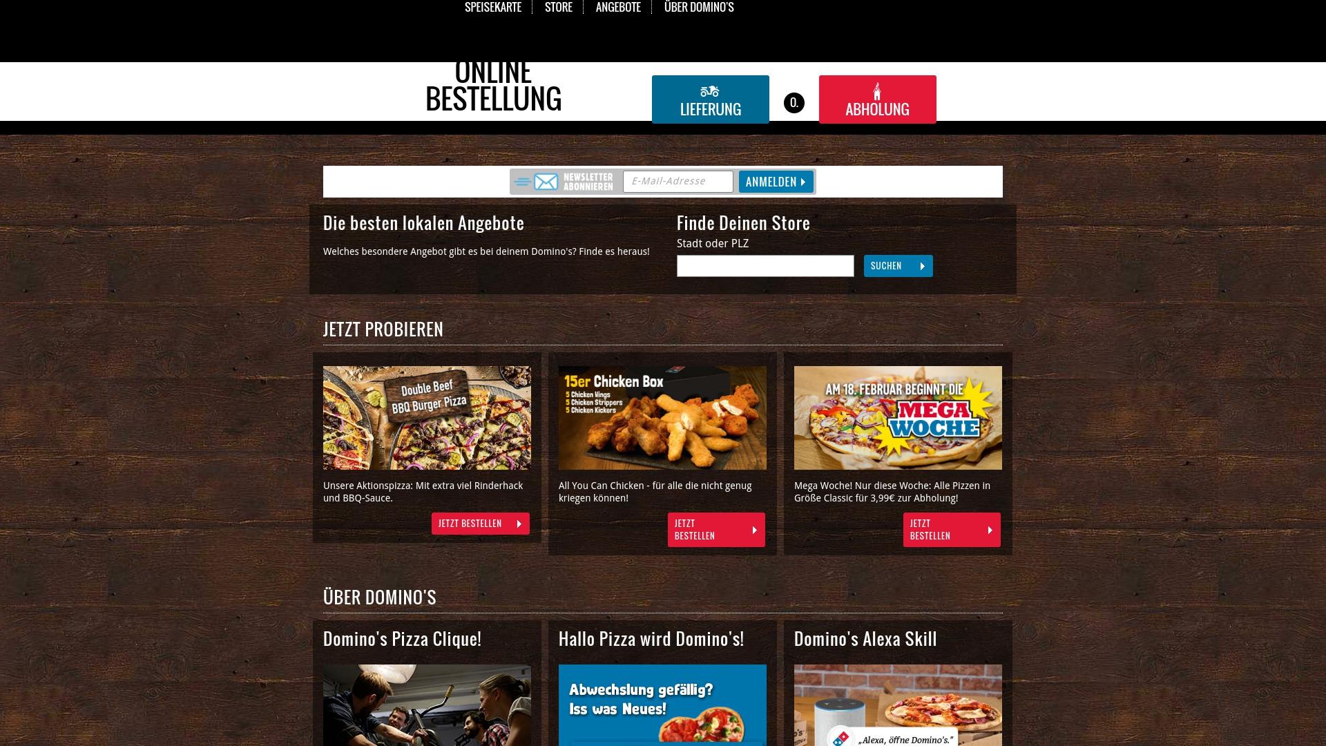 Gutschein für Dominos: Rabatte für  Dominos sichern