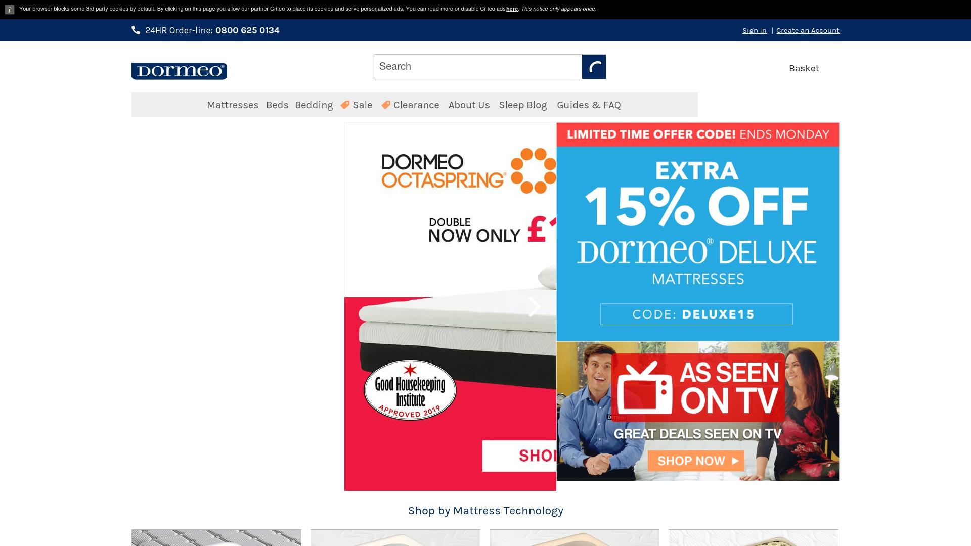 Gutschein für Dormeo: Rabatte für  Dormeo sichern