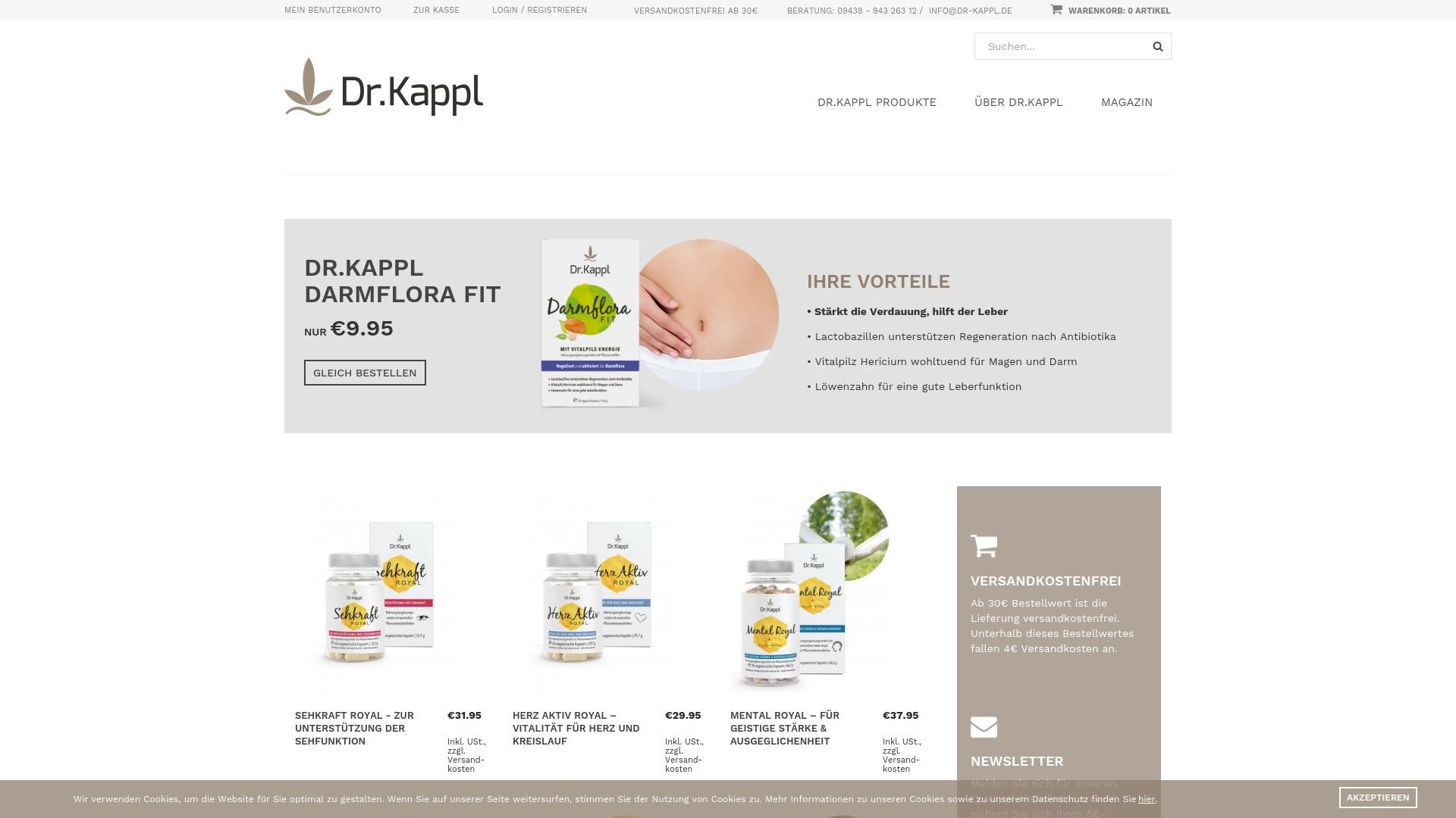 Gutschein für Dr-kappl: Rabatte für  Dr-kappl sichern