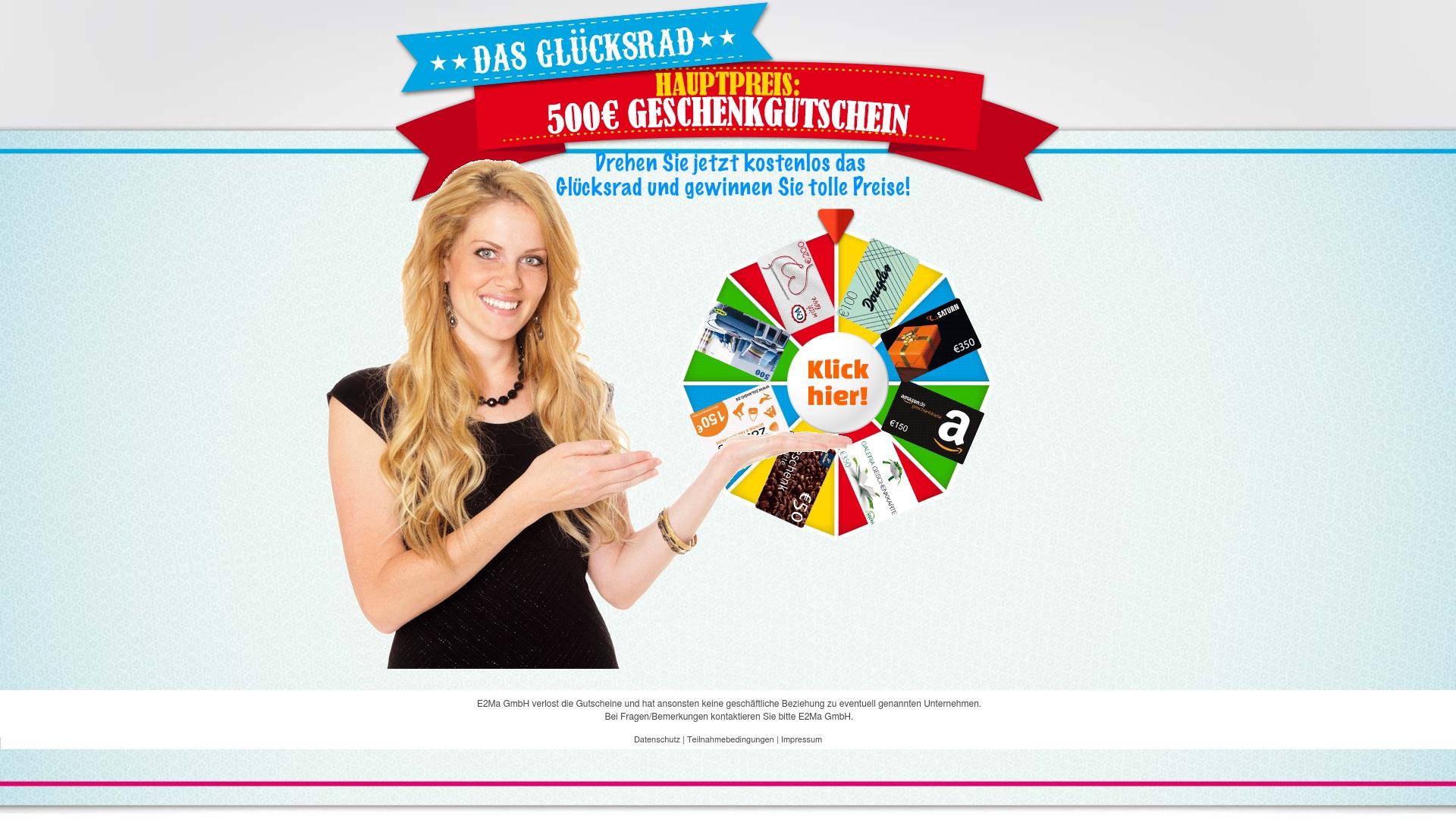 Gutschein für Dreh-dein-glueck: Rabatte für  Dreh-dein-glueck sichern