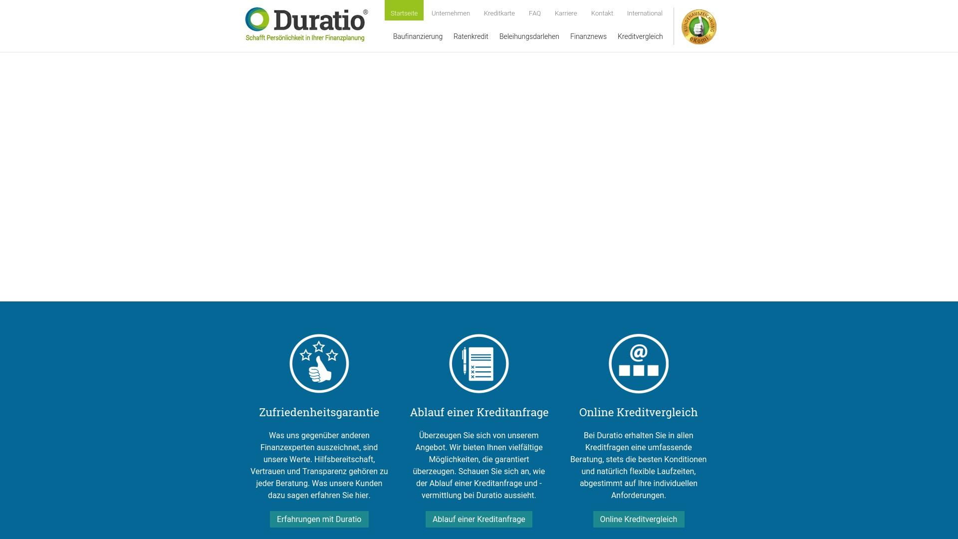 Gutschein für Duratio: Rabatte für  Duratio sichern