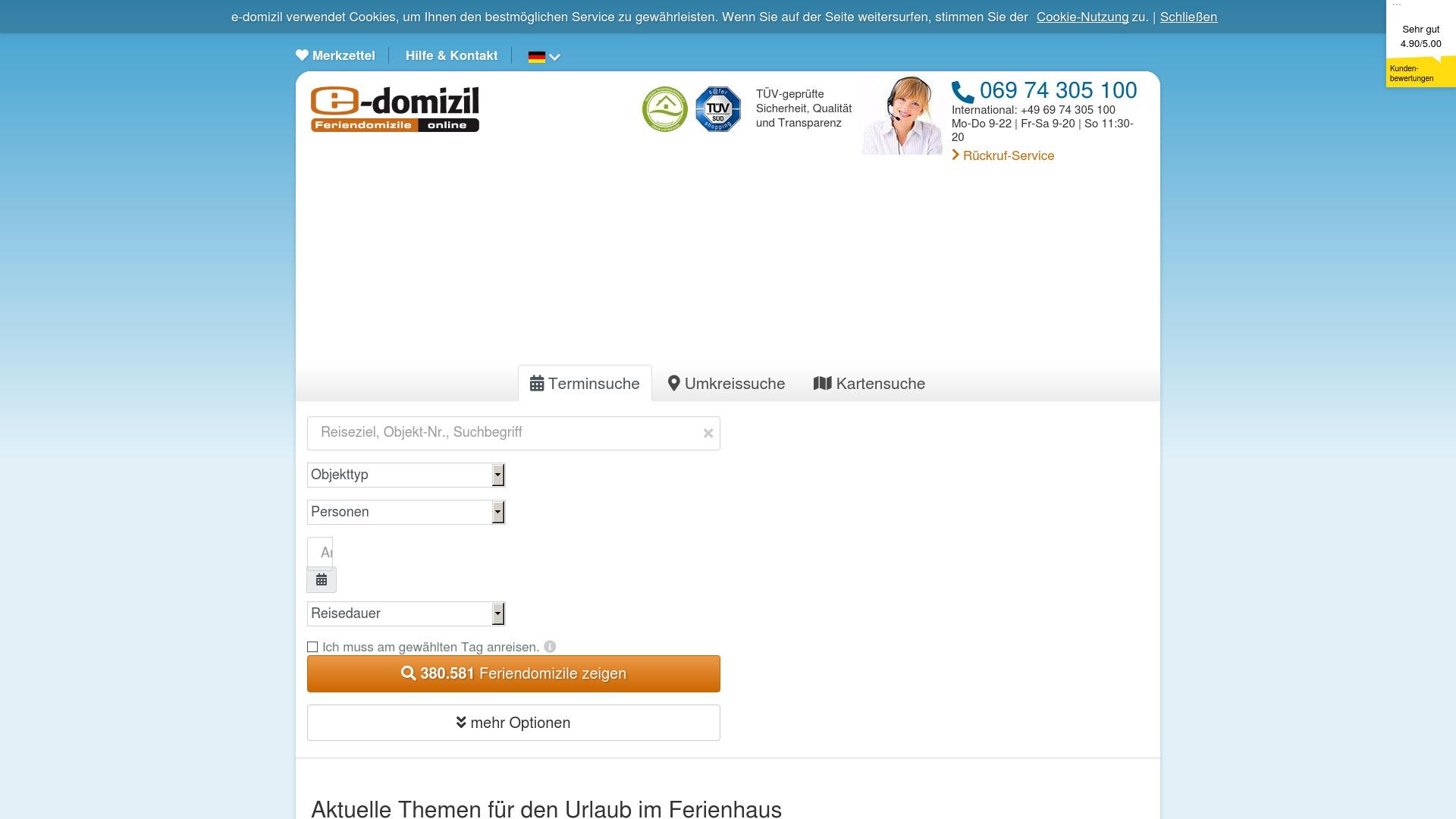 Gutschein für E-domizil: Rabatte für  E-domizil sichern