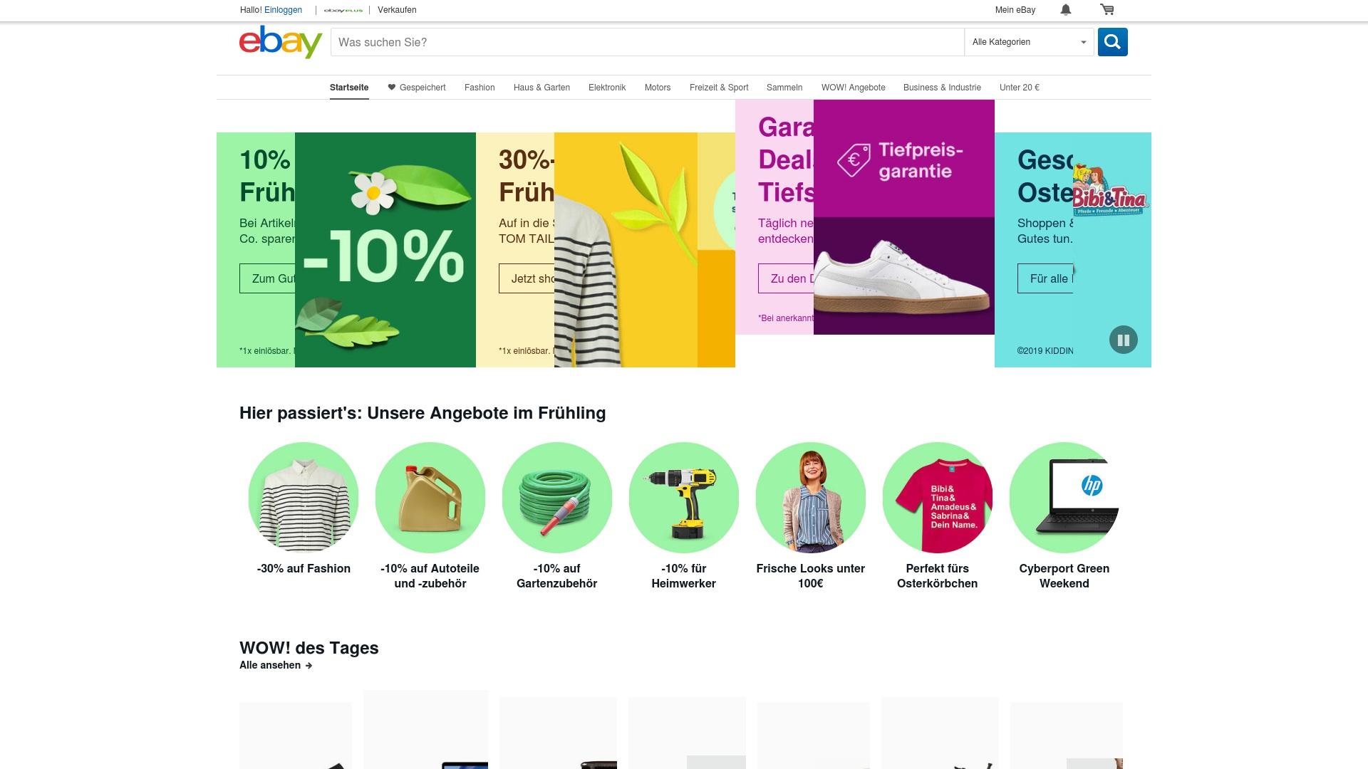 Gutschein für Ebay: Rabatte für  Ebay sichern
