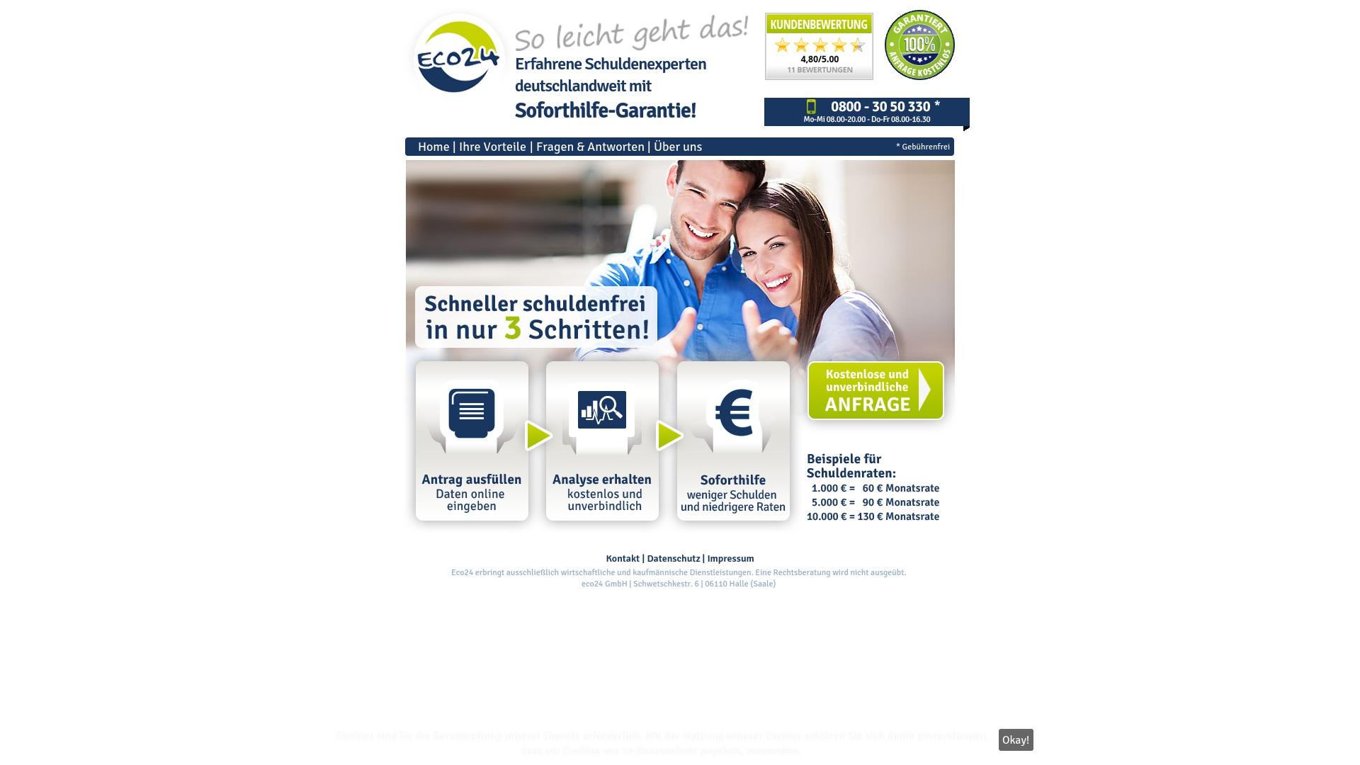 Gutschein für Eco24: Rabatte für  Eco24 sichern