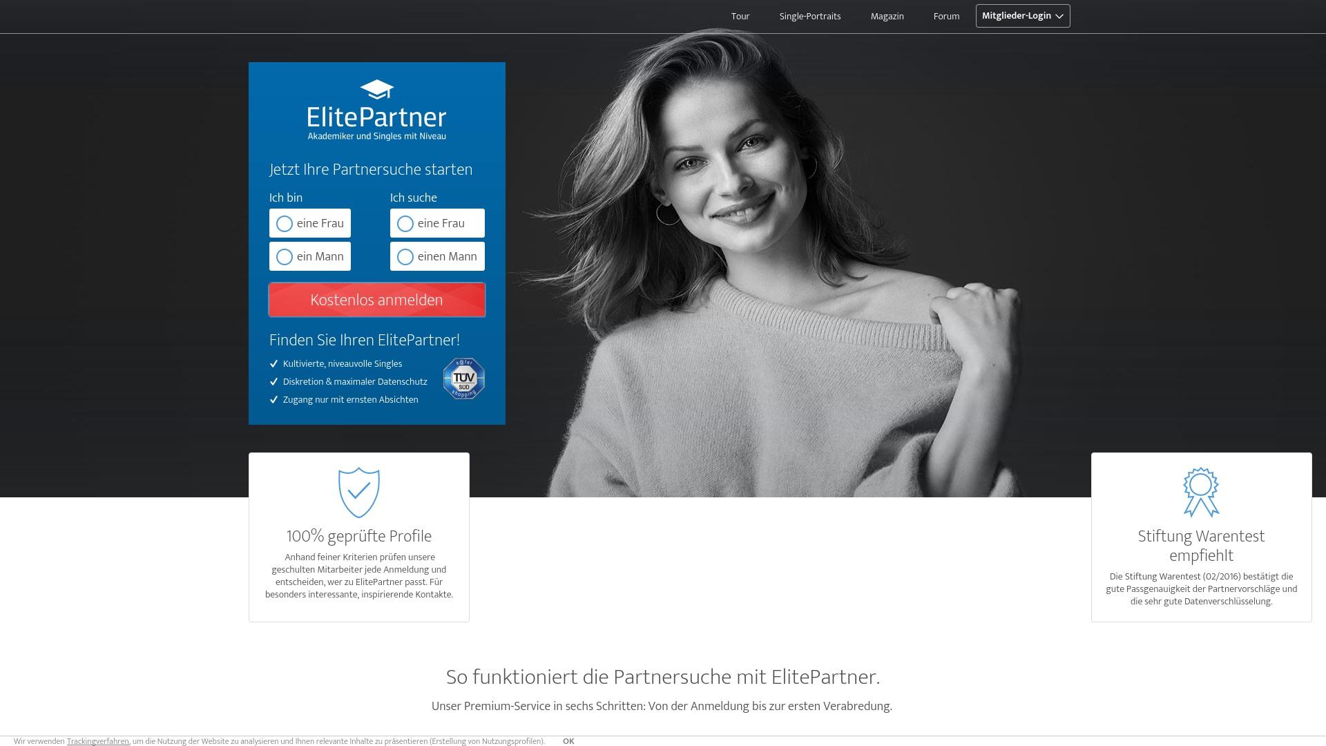 Gutschein für Elitepartner: Rabatte für Elitepartner sichern