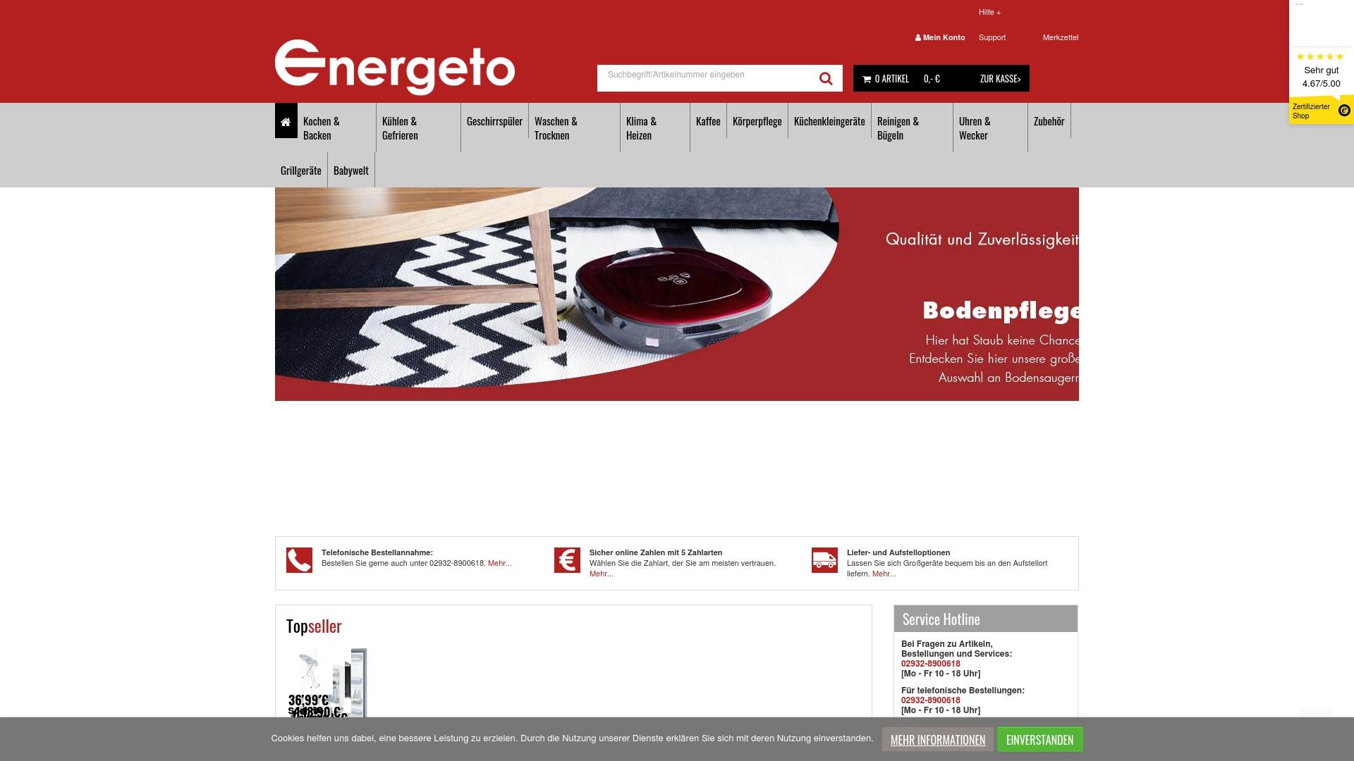 Gutschein für Energeto: Rabatte für  Energeto sichern