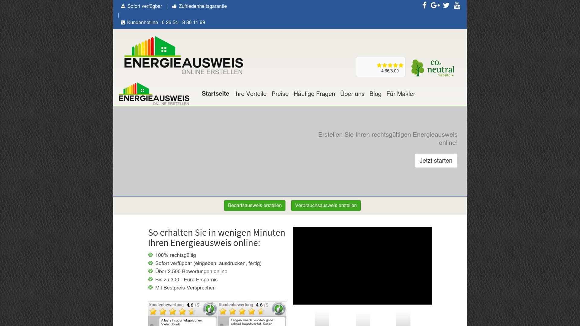 Gutschein für Energieausweis-online-erstellen: Rabatte für  Energieausweis-online-erstellen sichern