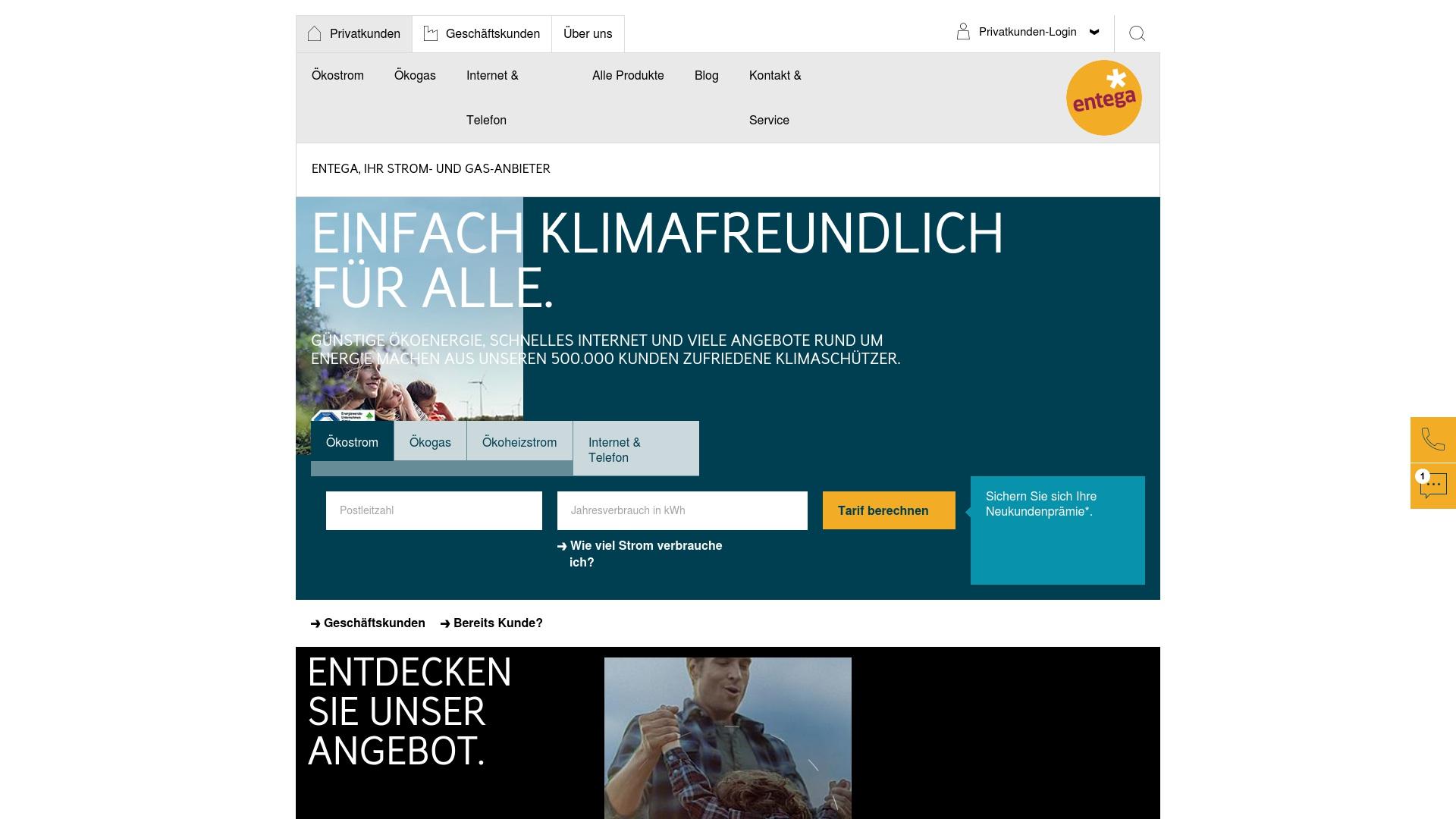 Gutschein für Entega: Rabatte für  Entega sichern