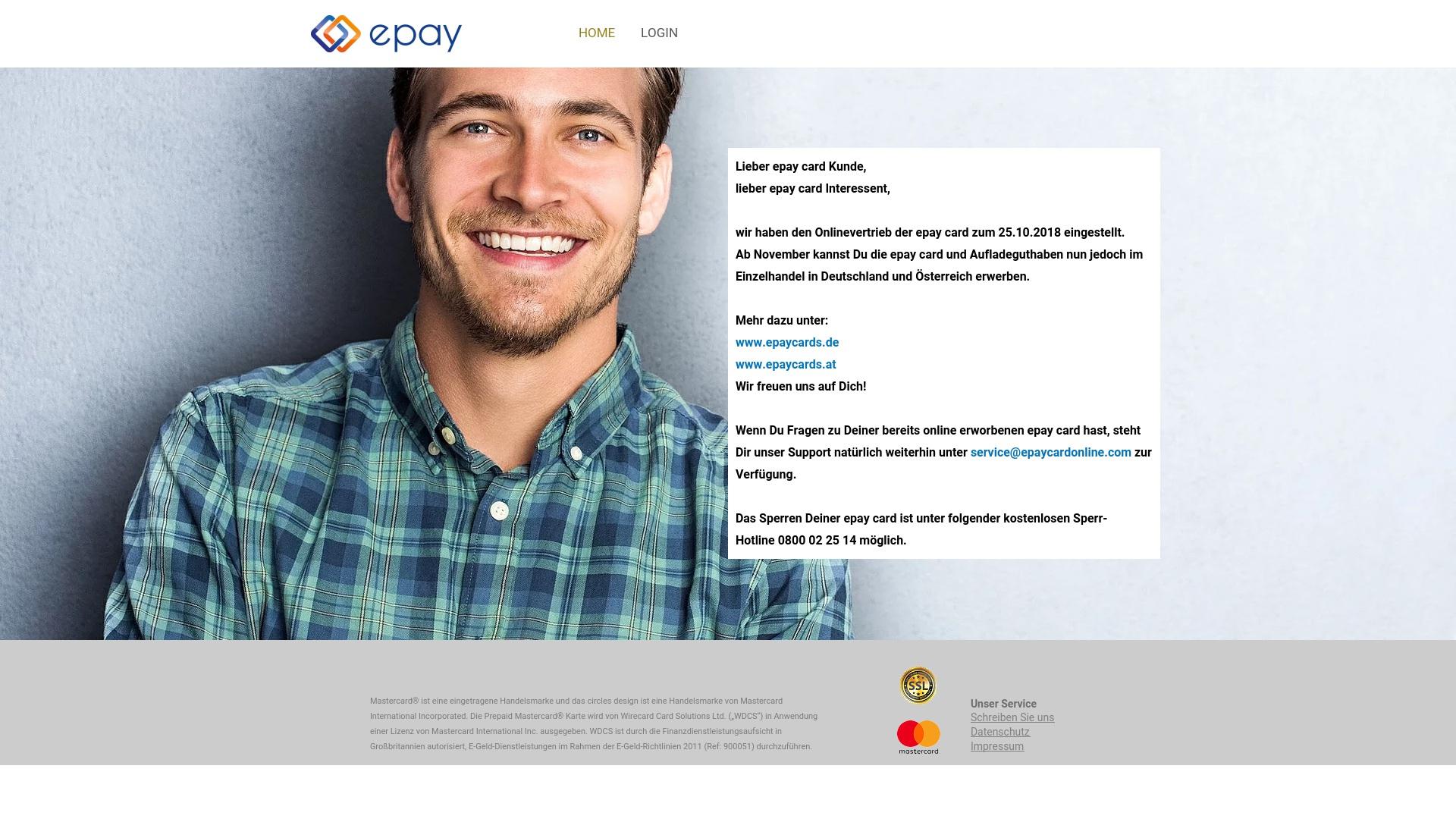 Gutschein für Epaycardonline: Rabatte für  Epaycardonline sichern