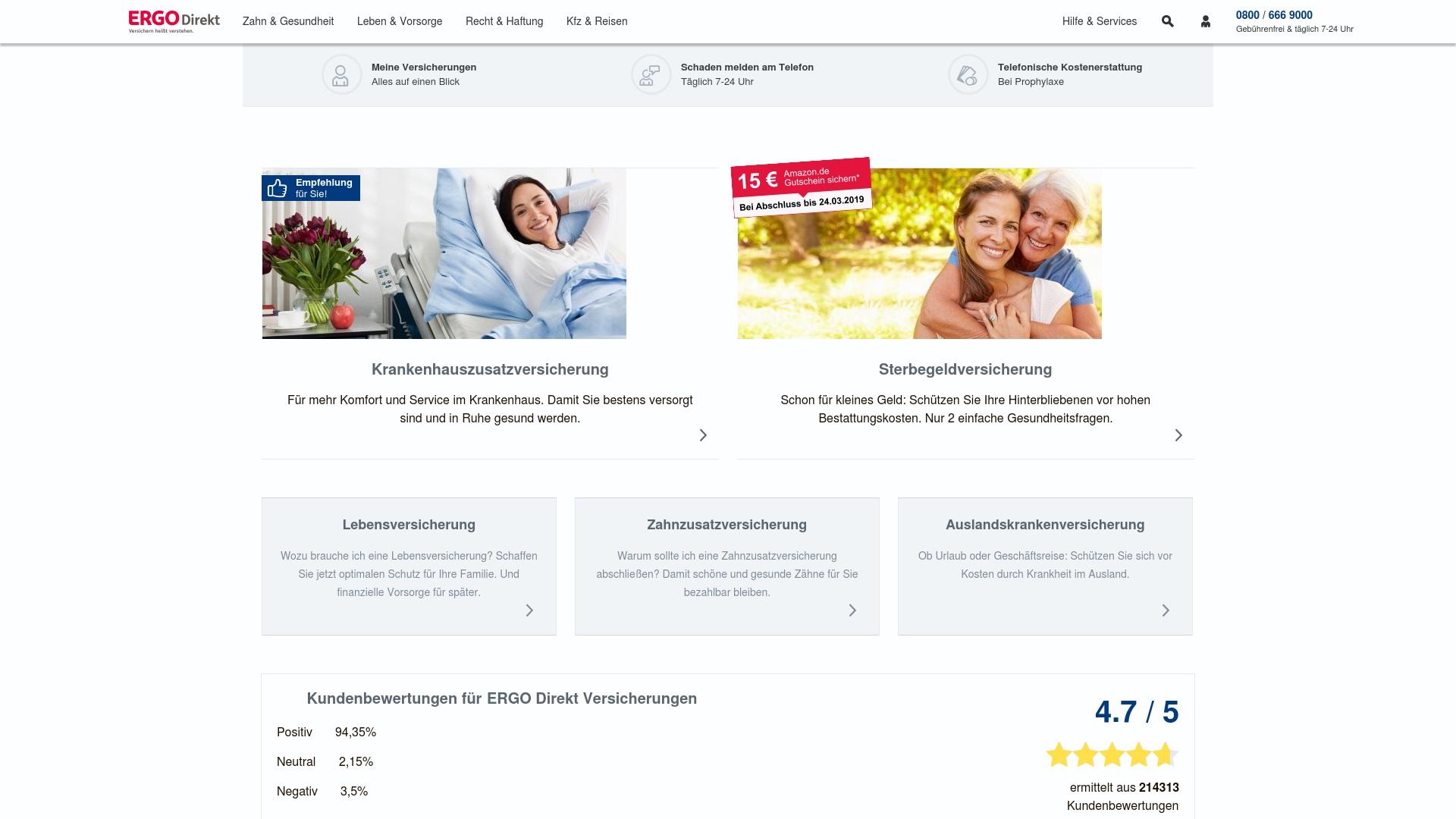 Gutschein für Ergodirekt: Rabatte für  Ergodirekt sichern