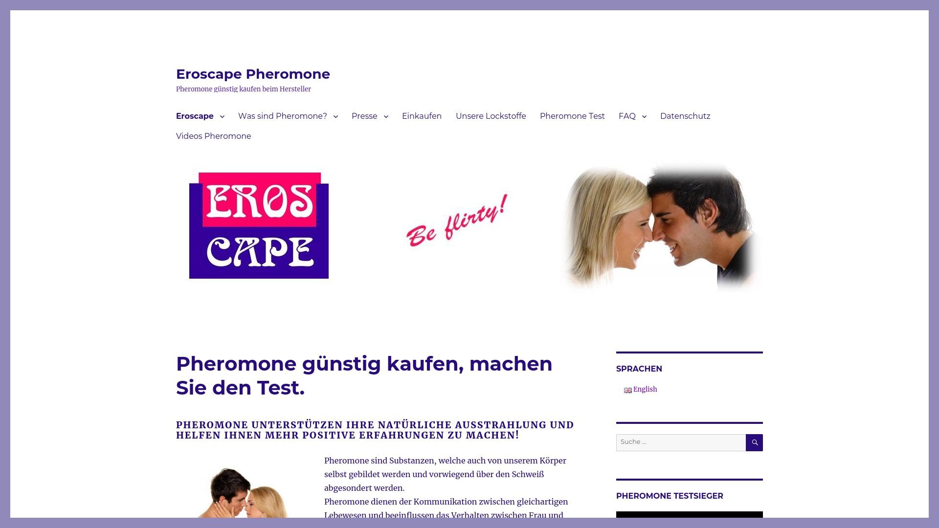 Gutschein für Eroscape: Rabatte für  Eroscape sichern