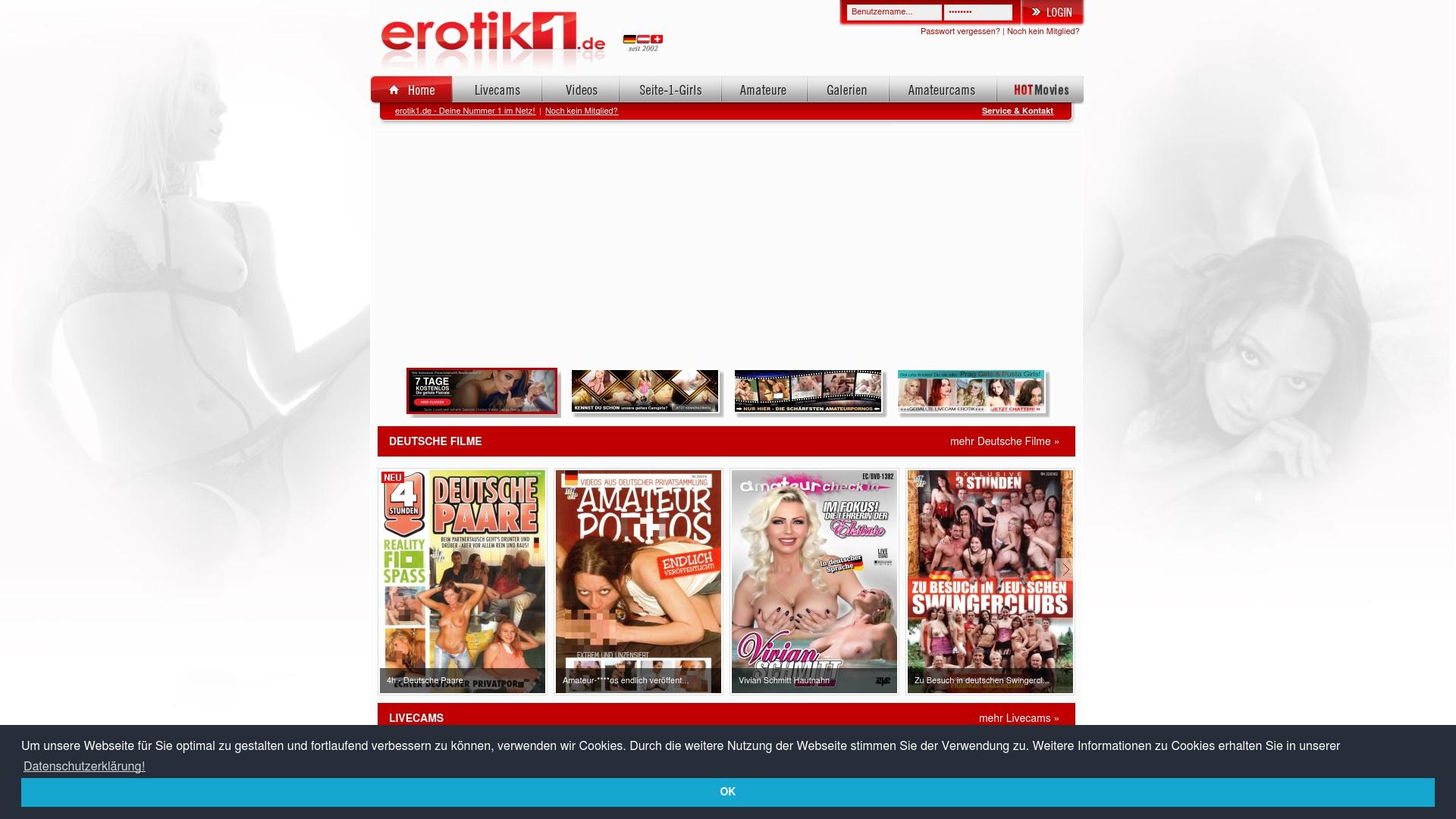 Gutschein für Erotik1: Rabatte für  Erotik1 sichern
