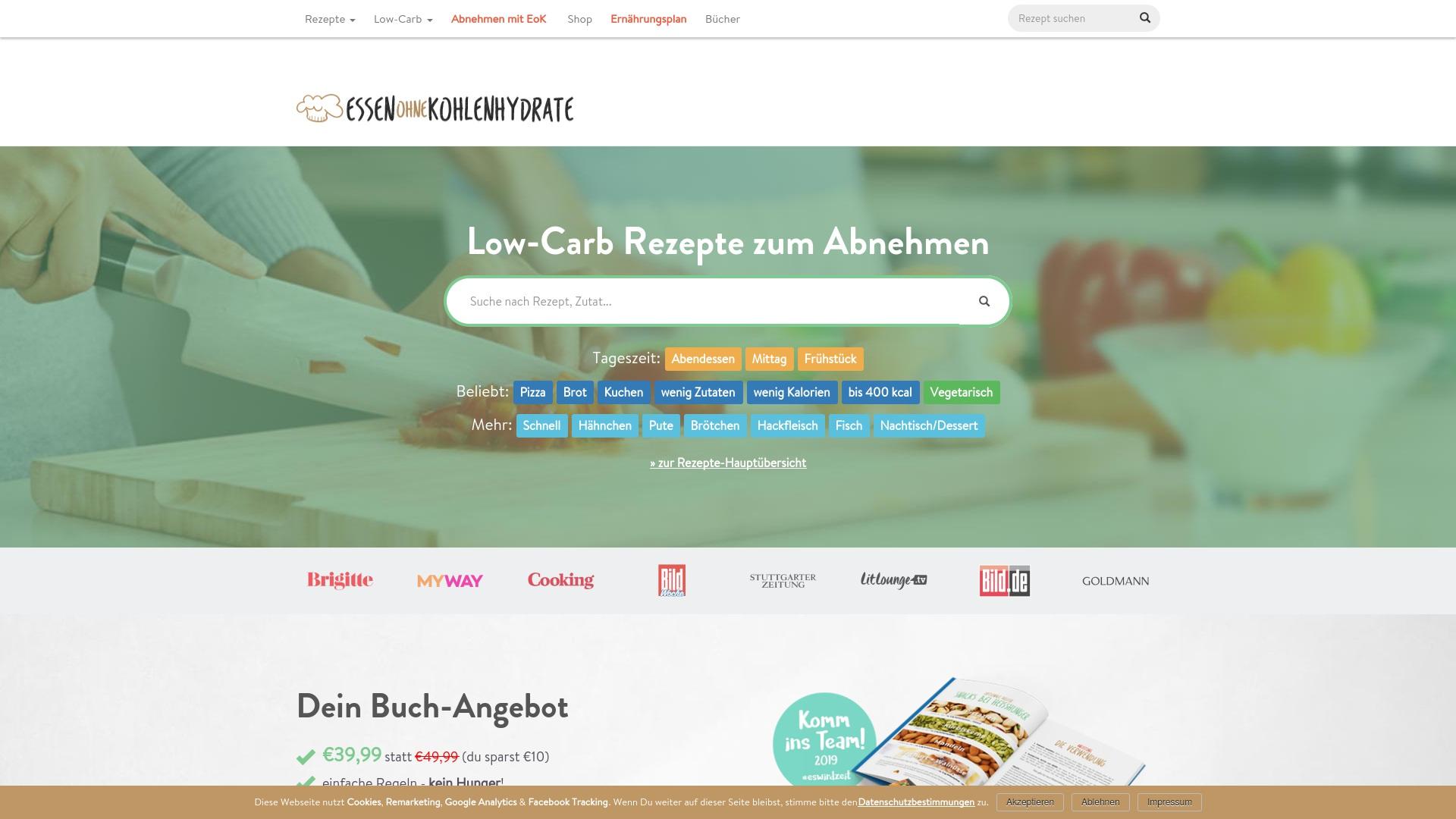 Gutschein für Essen-ohne-kohlenhydrate: Rabatte für  Essen-ohne-kohlenhydrate sichern