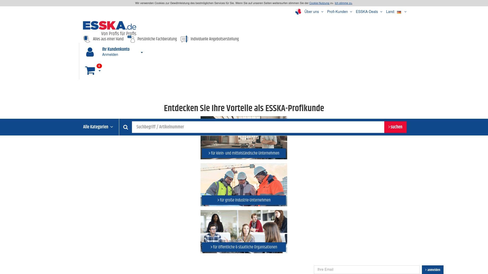 Gutschein für Esska: Rabatte für  Esska sichern